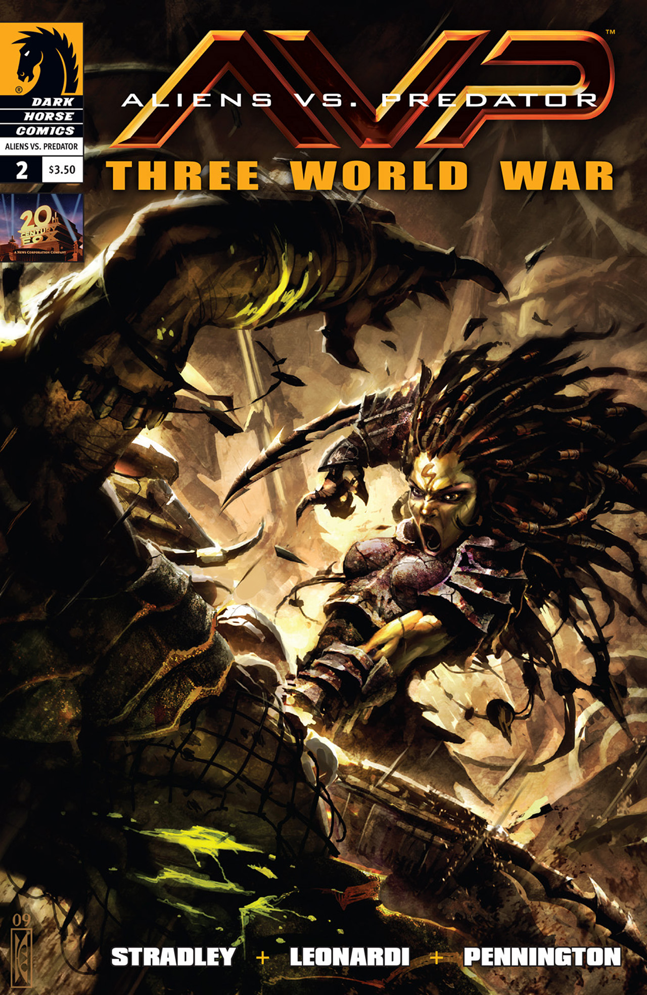 Read online Aliens vs. Predator: Three World War comic -  Issue #2 - 1