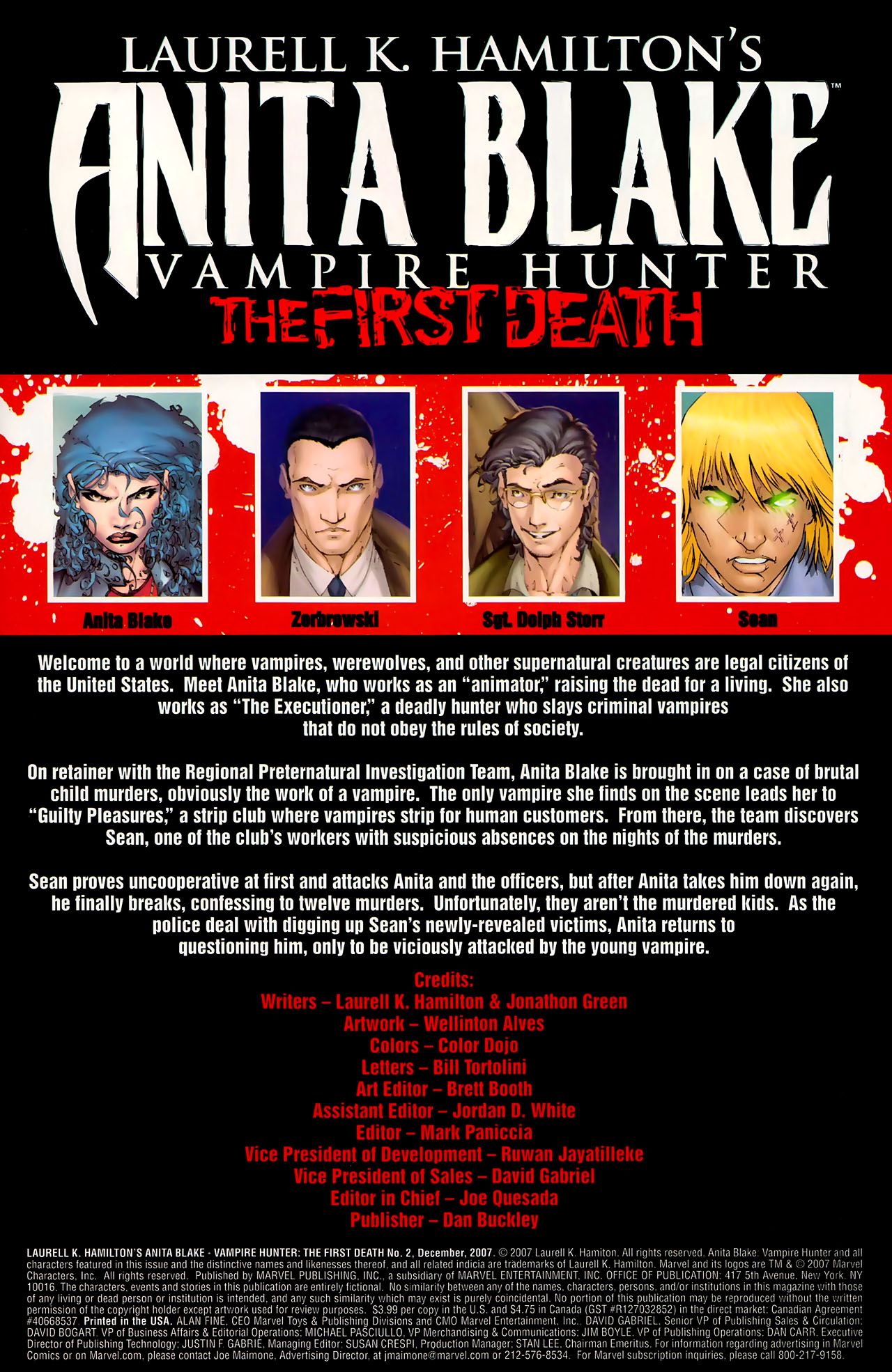 Read online Anita Blake, Vampire Hunter: The First Death comic -  Issue #2 - 4