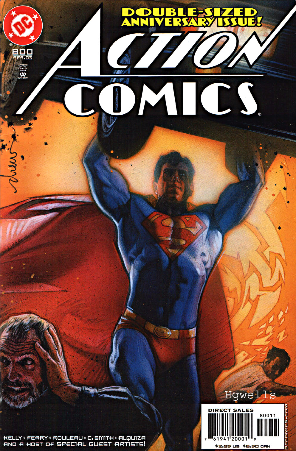 Read online Action Comics (1938) comic -  Issue #800 - 1