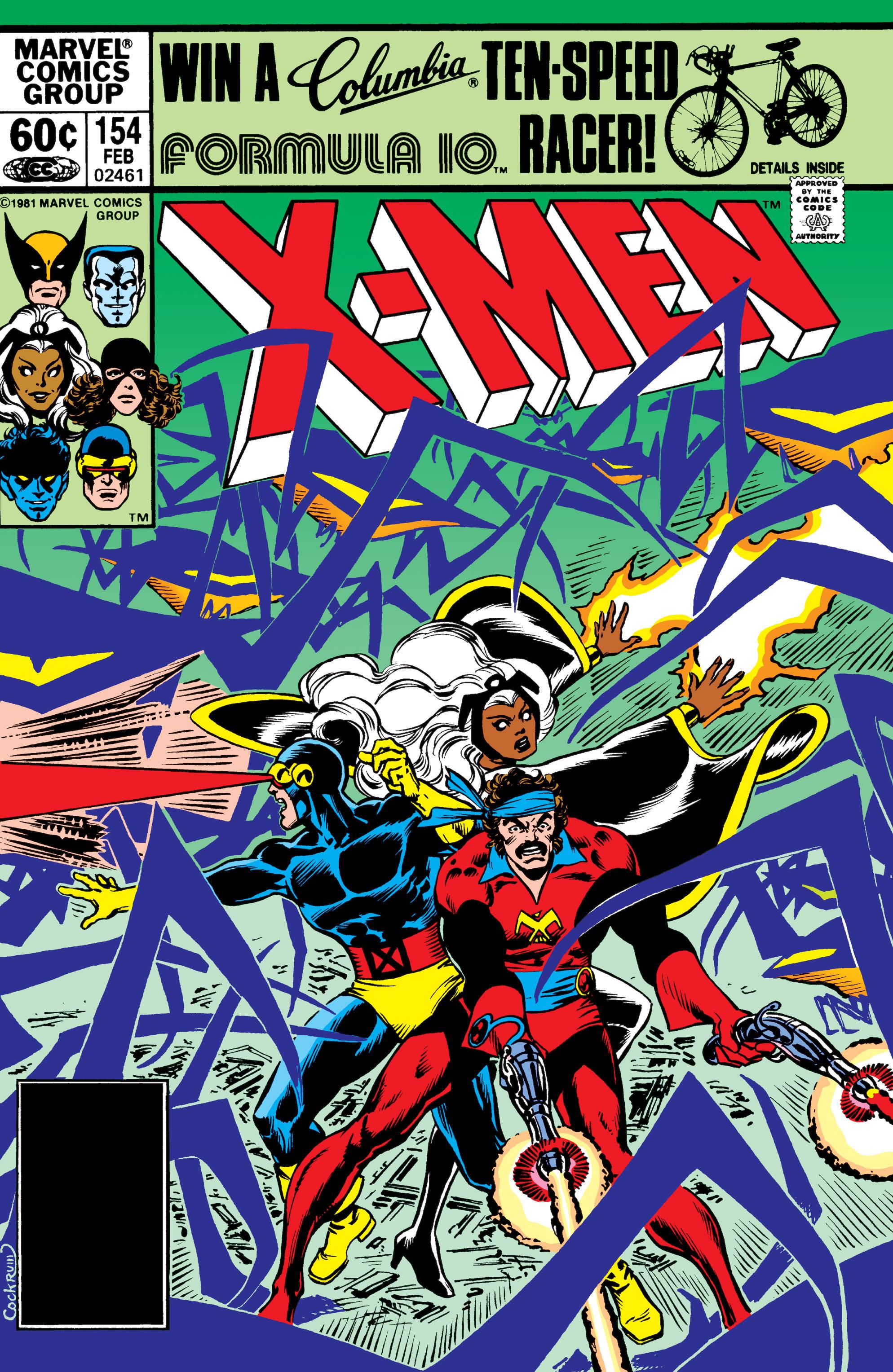 Read online Uncanny X-Men (1963) comic -  Issue #154 - 1