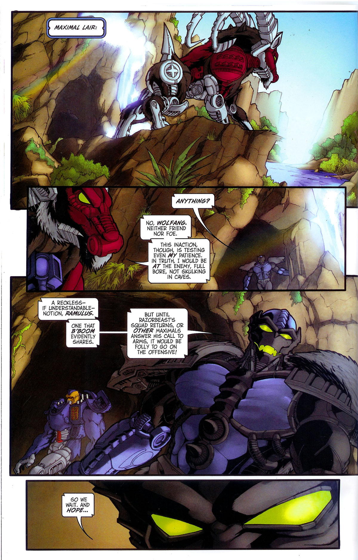 Read online Transformers, Beast Wars: The Gathering comic -  Issue #3 - 23