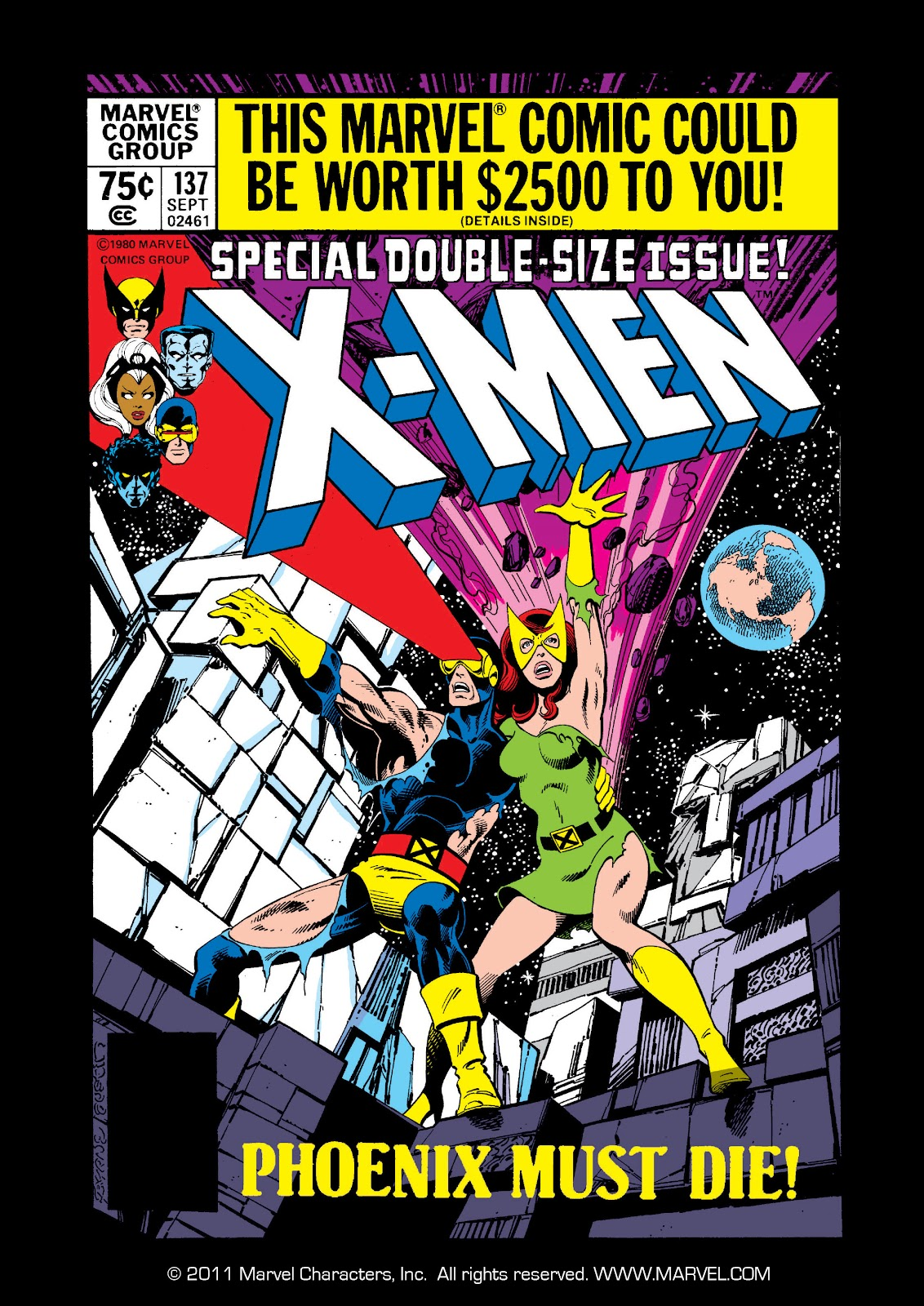 Uncanny X-Men (1963) issue 137 - Page 1