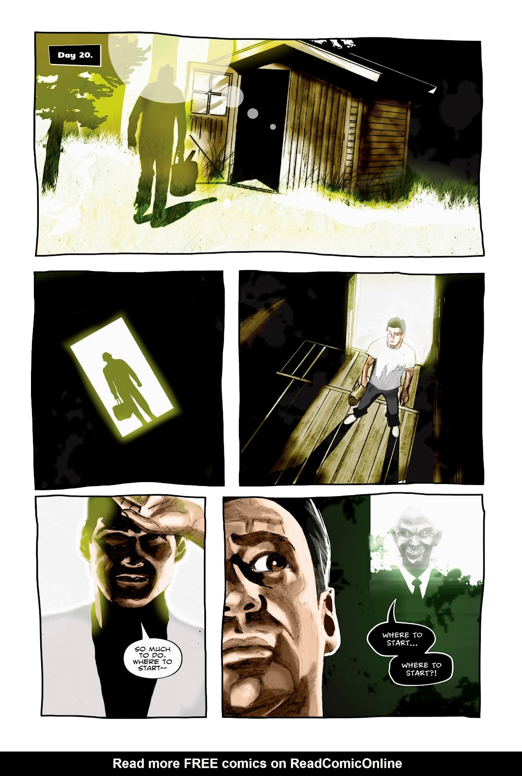 Read online Cursed Land comic -  Issue #2 - 10