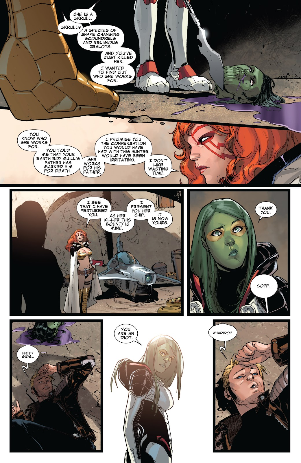 Guardians of the Galaxy/All-New X-Men: The Trial of Jean Grey issue TPB - Page 35