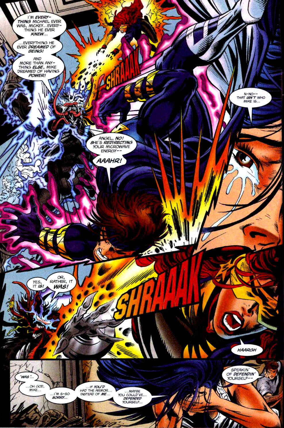 The New Warriors Issue #74 #78 - English 5