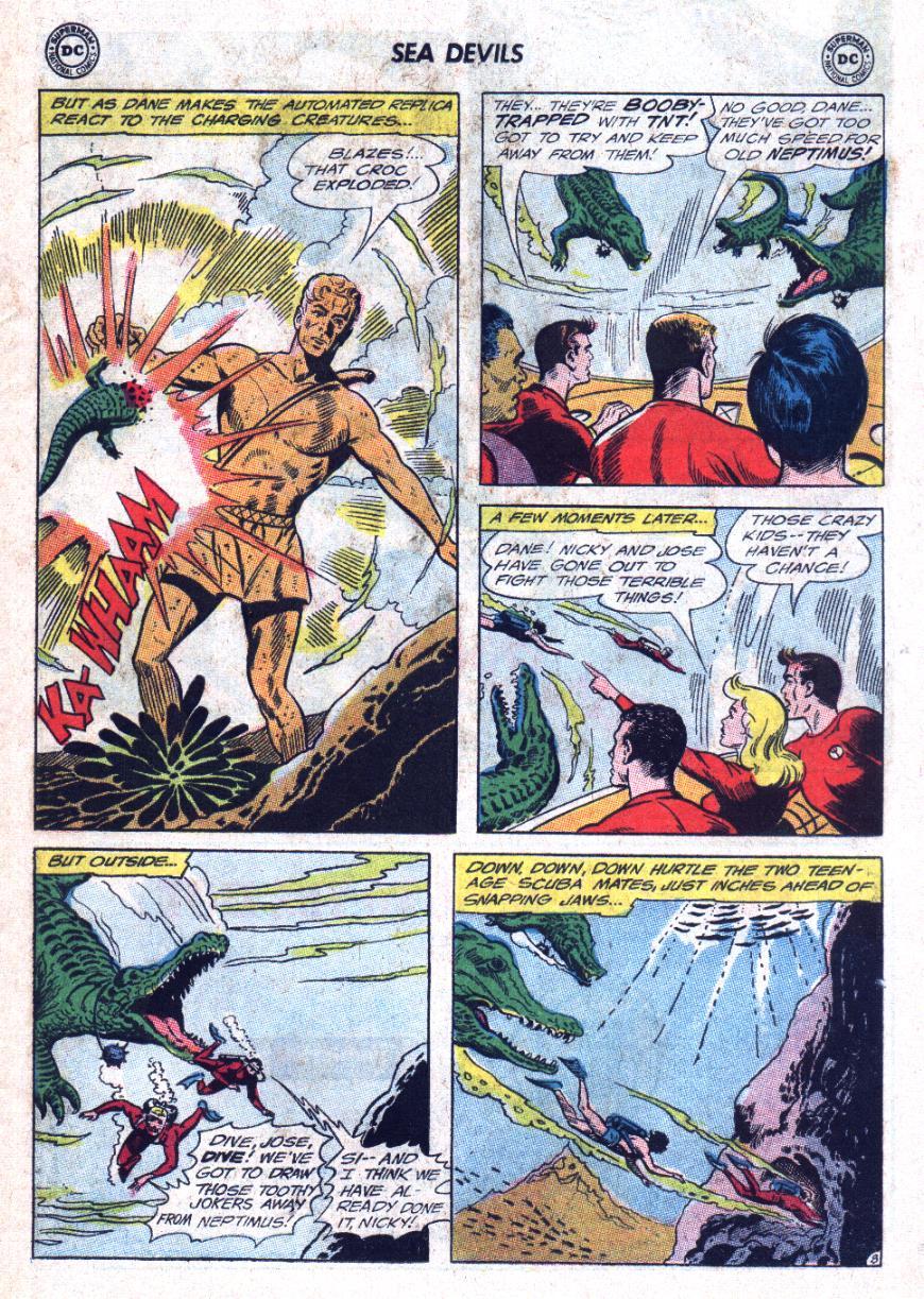 Read online Sea Devils comic -  Issue #25 - 12