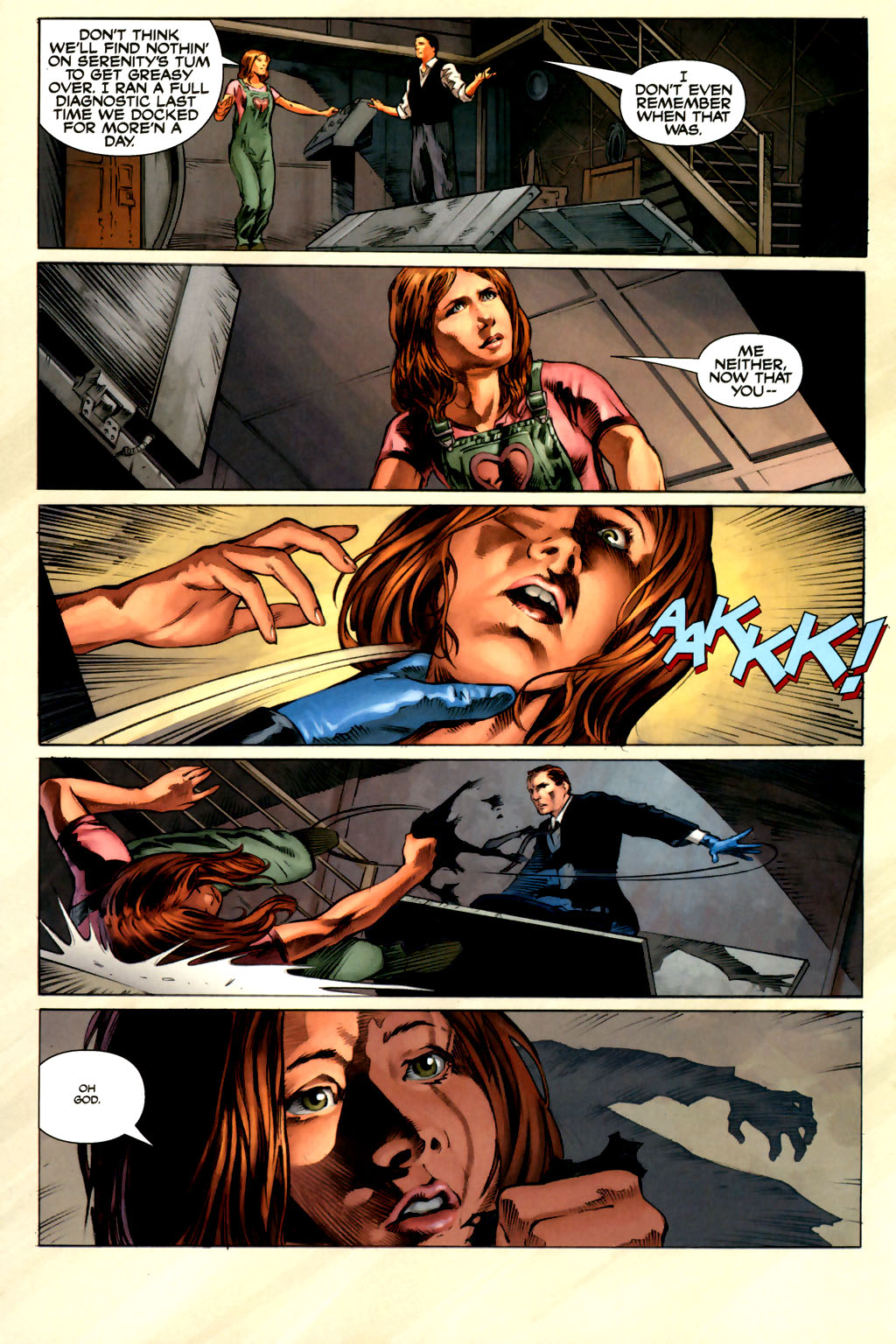 Read online Serenity comic -  Issue #3 - 12