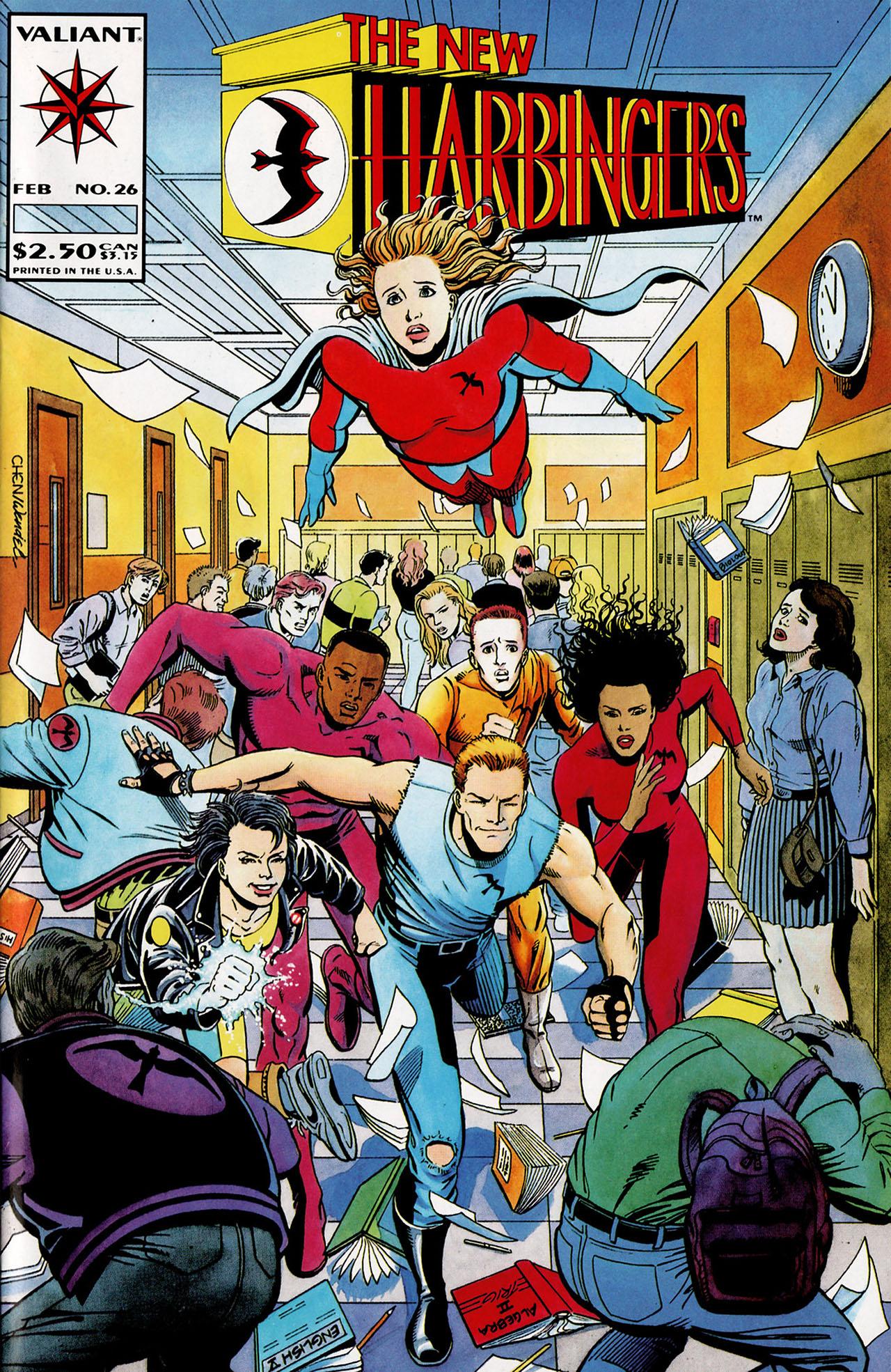 Read online Harbinger (1992) comic -  Issue #26 - 1