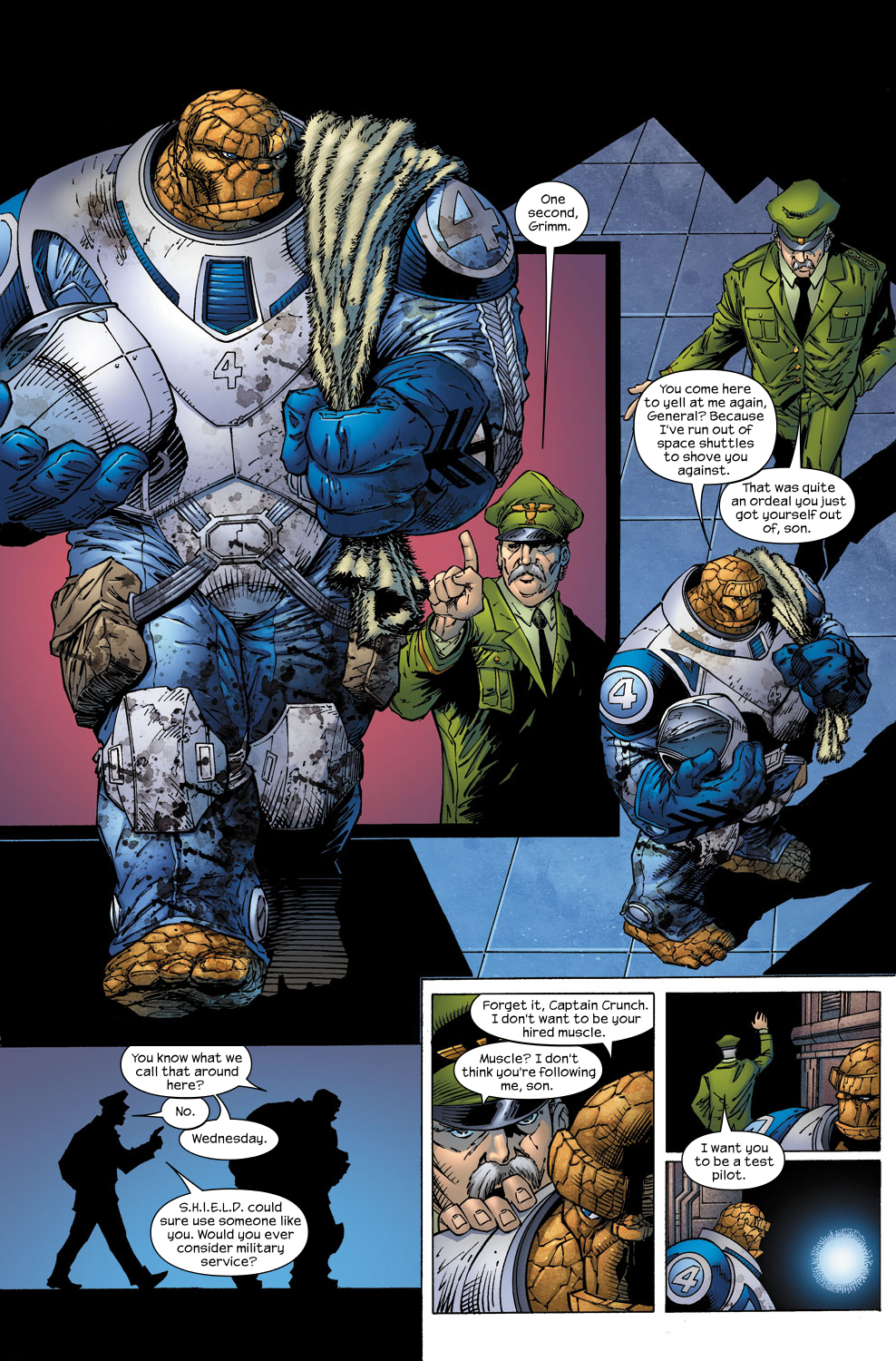 Read online Ultimate Fantastic Four (2004) comic -  Issue #59 - 21