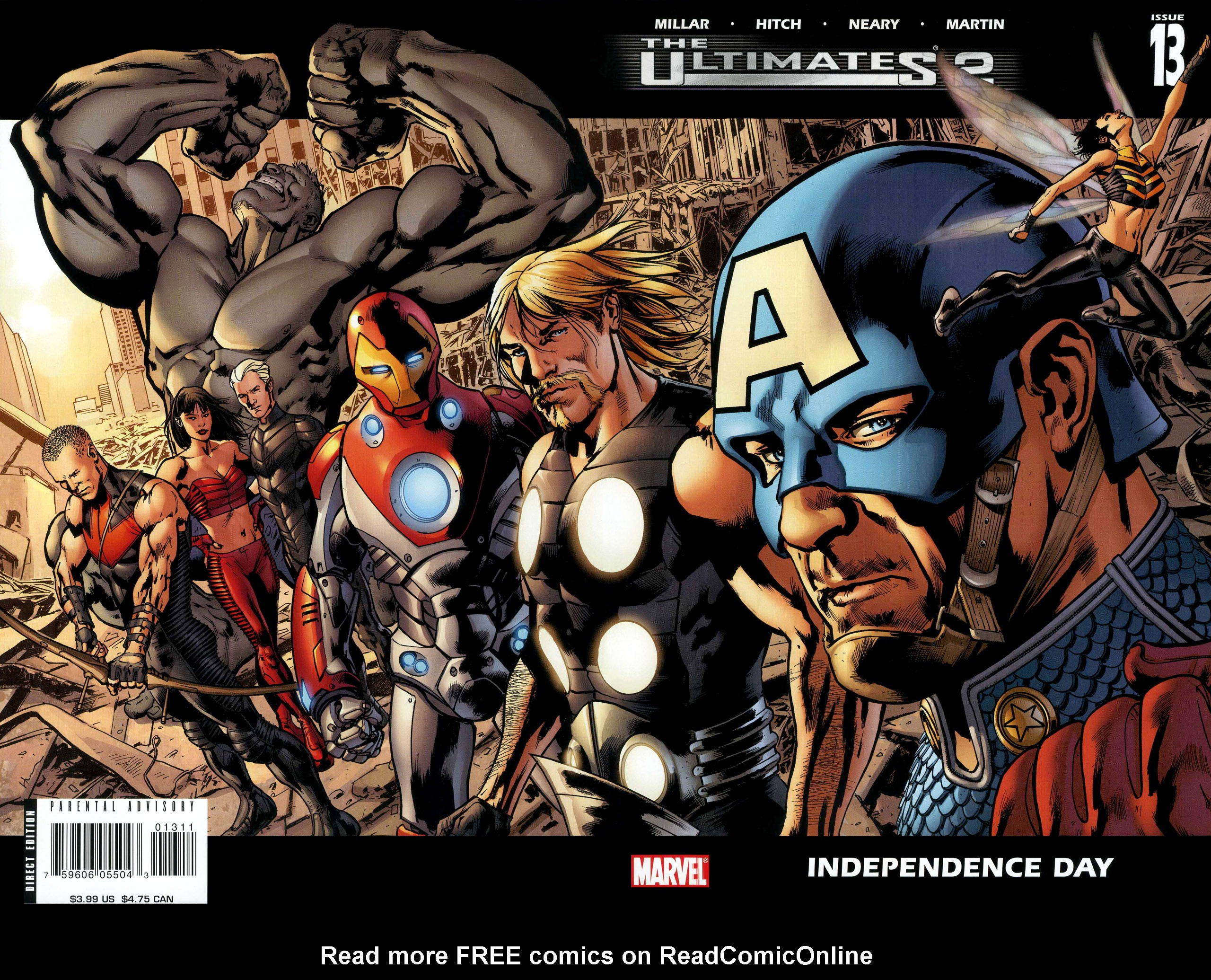Read online Ultimates 2 comic -  Issue #13 - 1