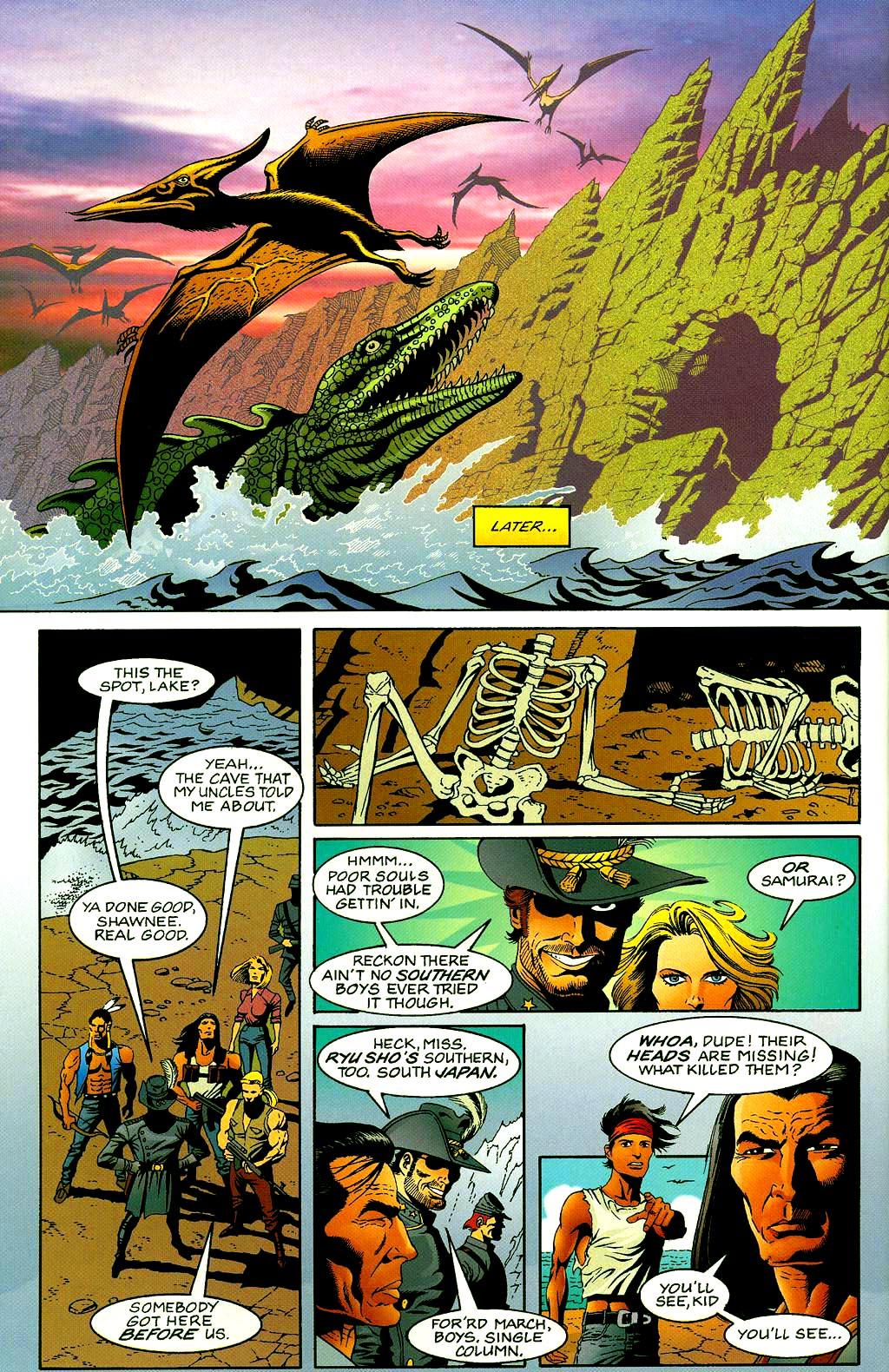 Read online Turok, Dinosaur Hunter (1993) comic -  Issue #40 - 7