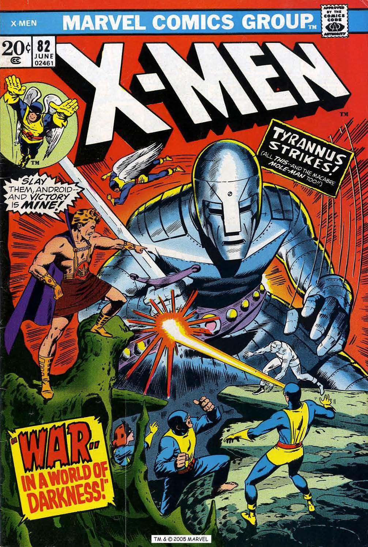 Uncanny X-Men (1963) 82 Page 1