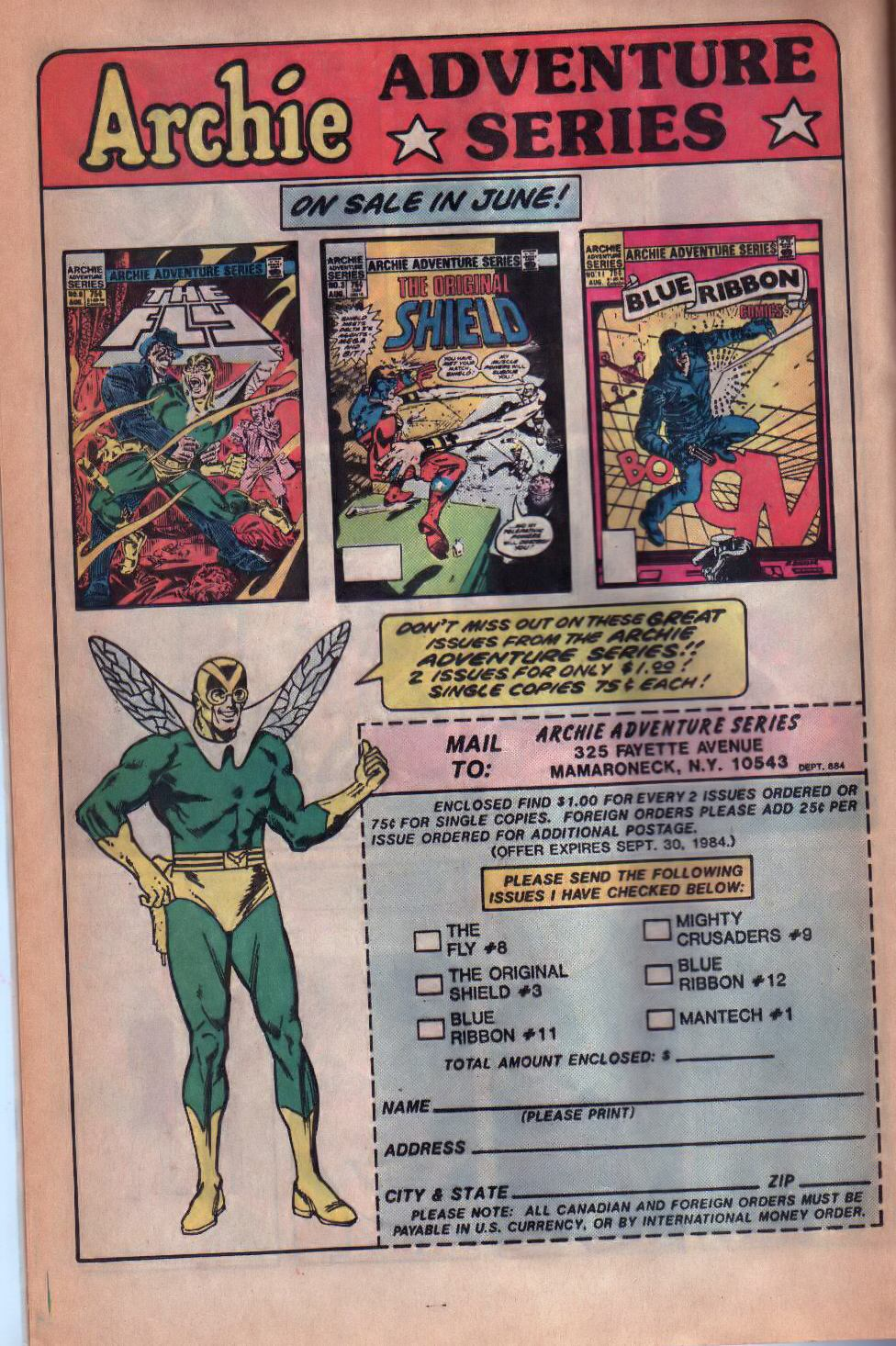 Read online The Fly (1983) comic -  Issue #8 - 17