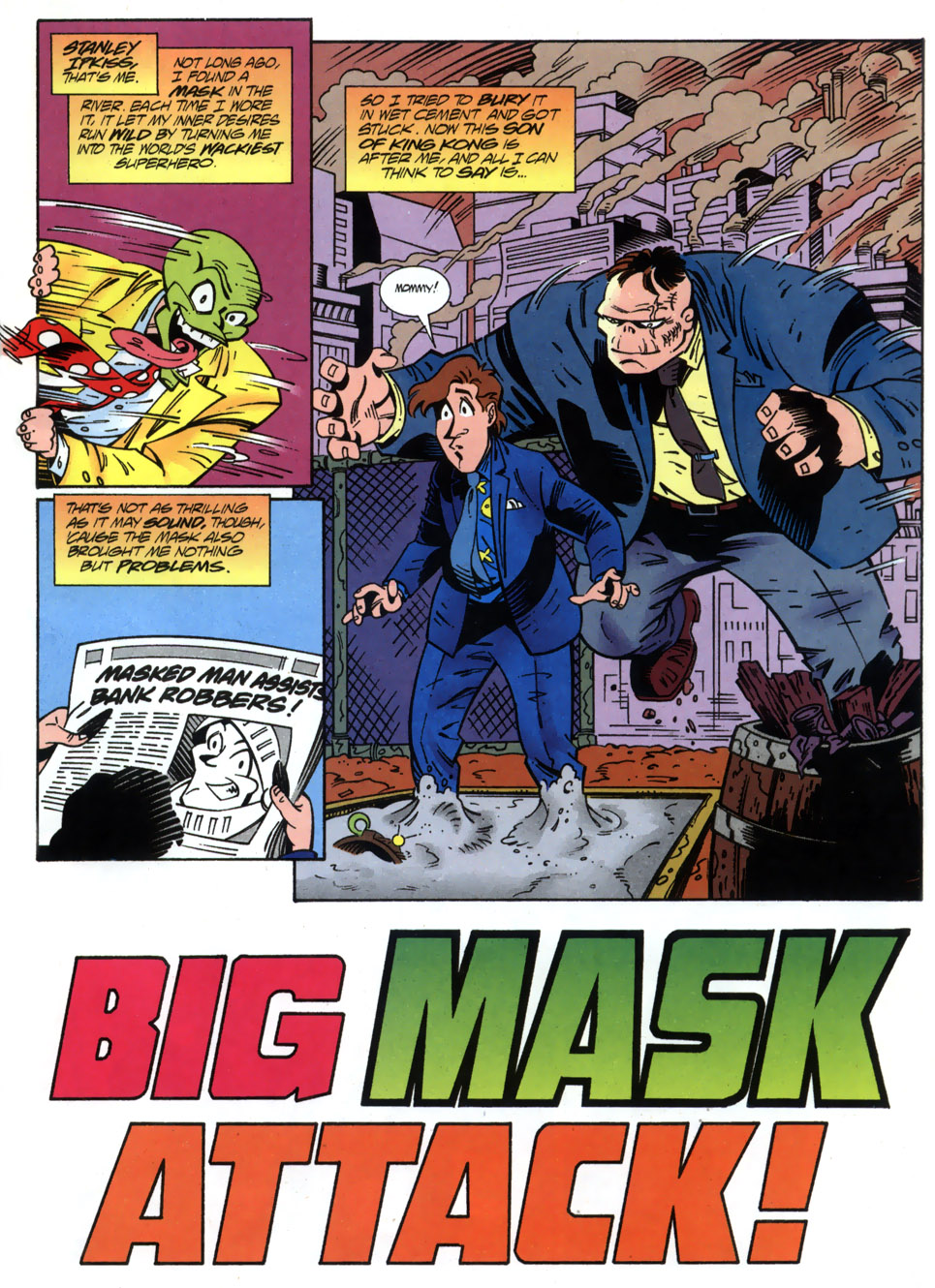 Read online Adventures Of The Mask comic -  Issue #2 - 3
