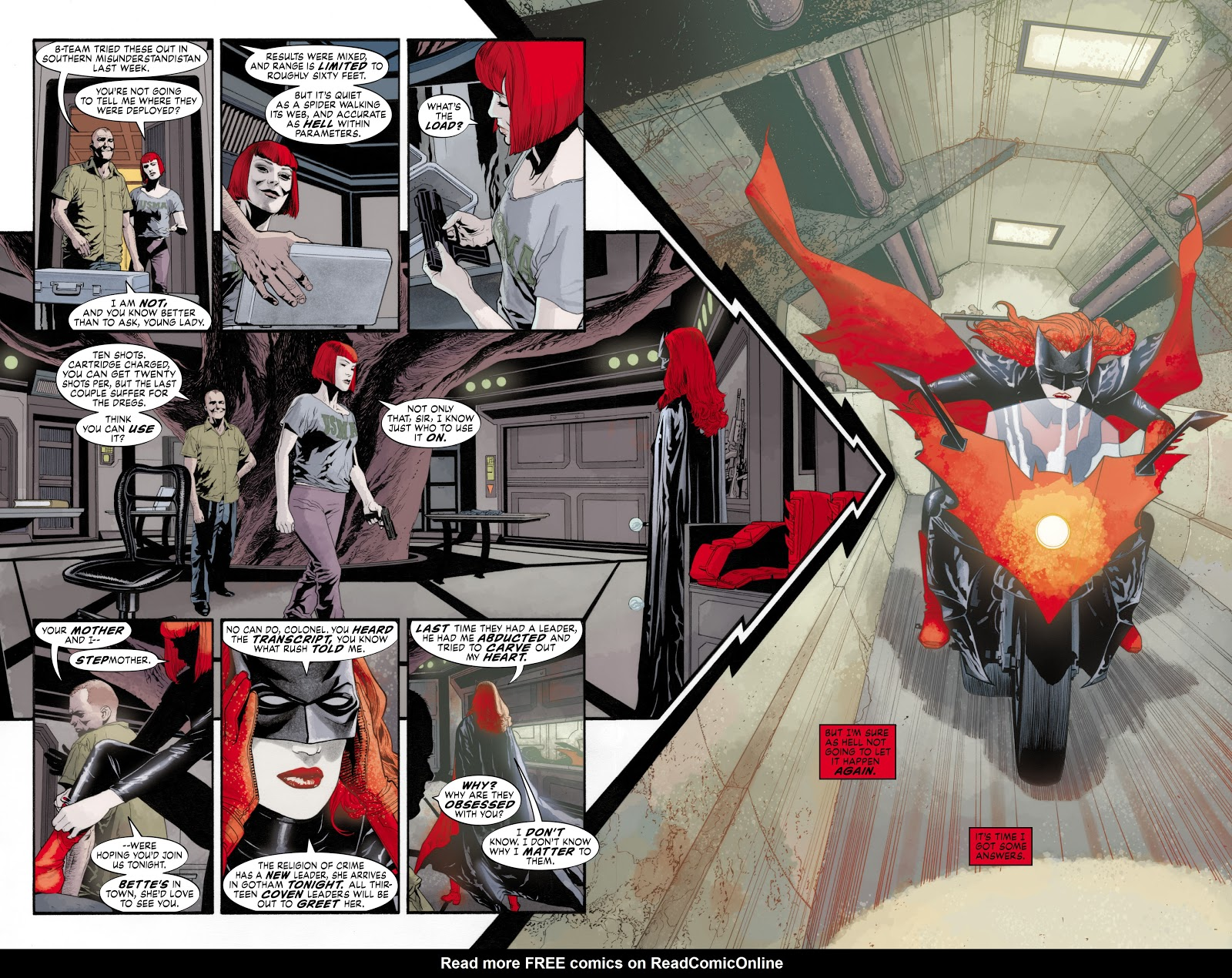 Read online Detective Comics (1937) comic -  Issue # _TPB Batwoman - Elegy (Part 1) - 21