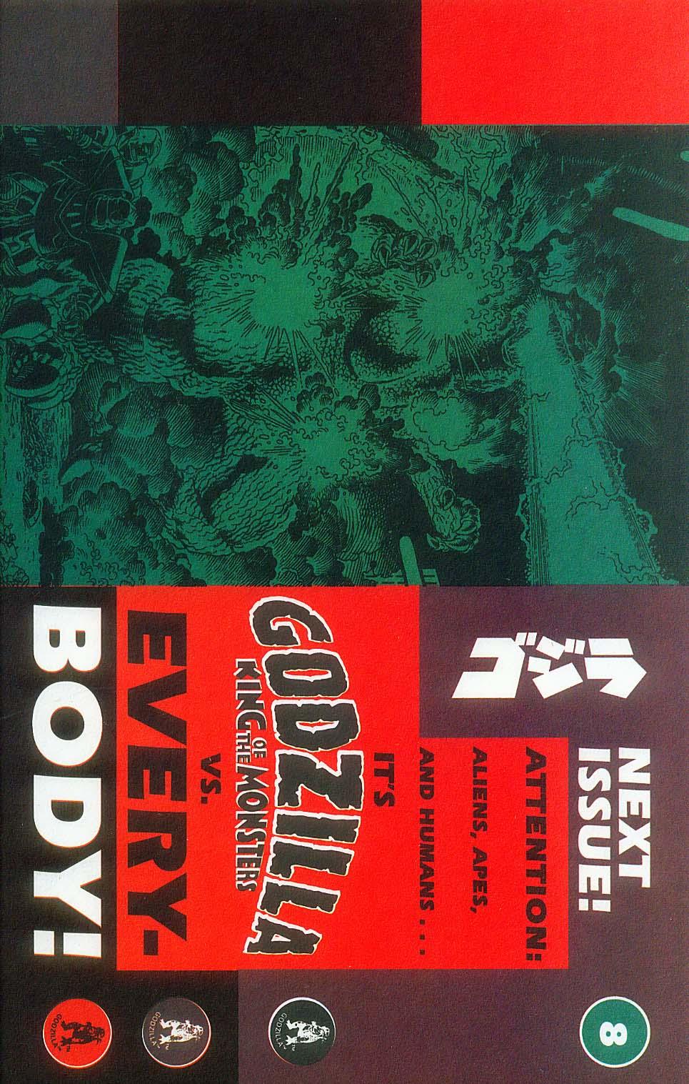 Godzilla (1995) Issue #7 #8 - English 30