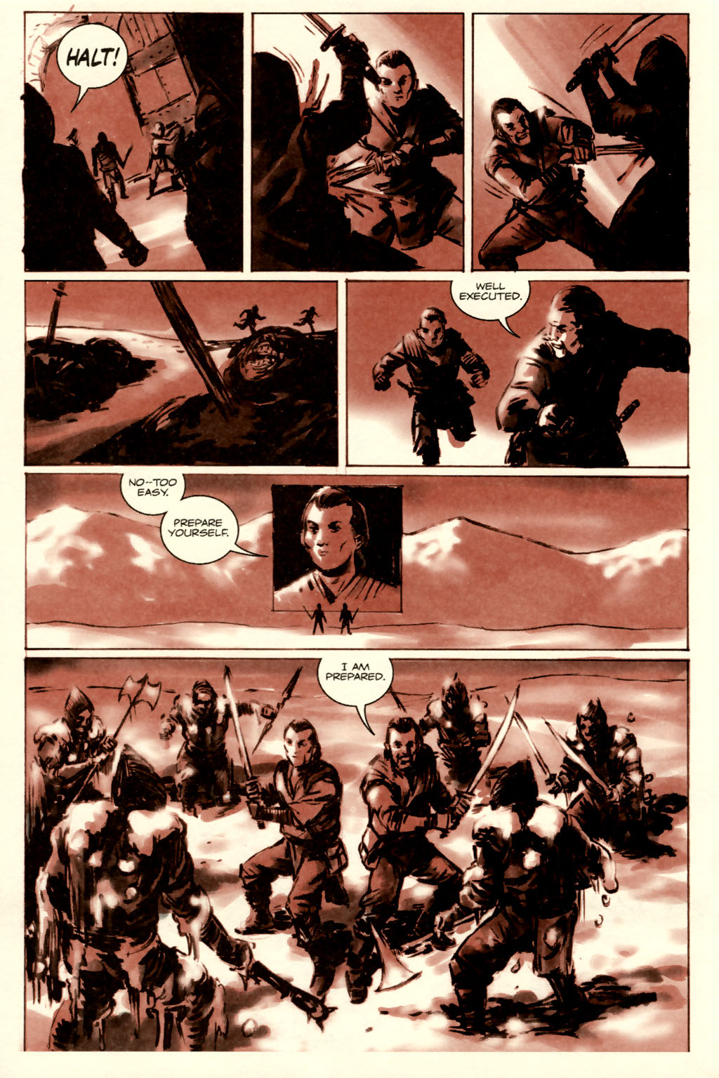 Read online Sea of Red comic -  Issue #5 - 8