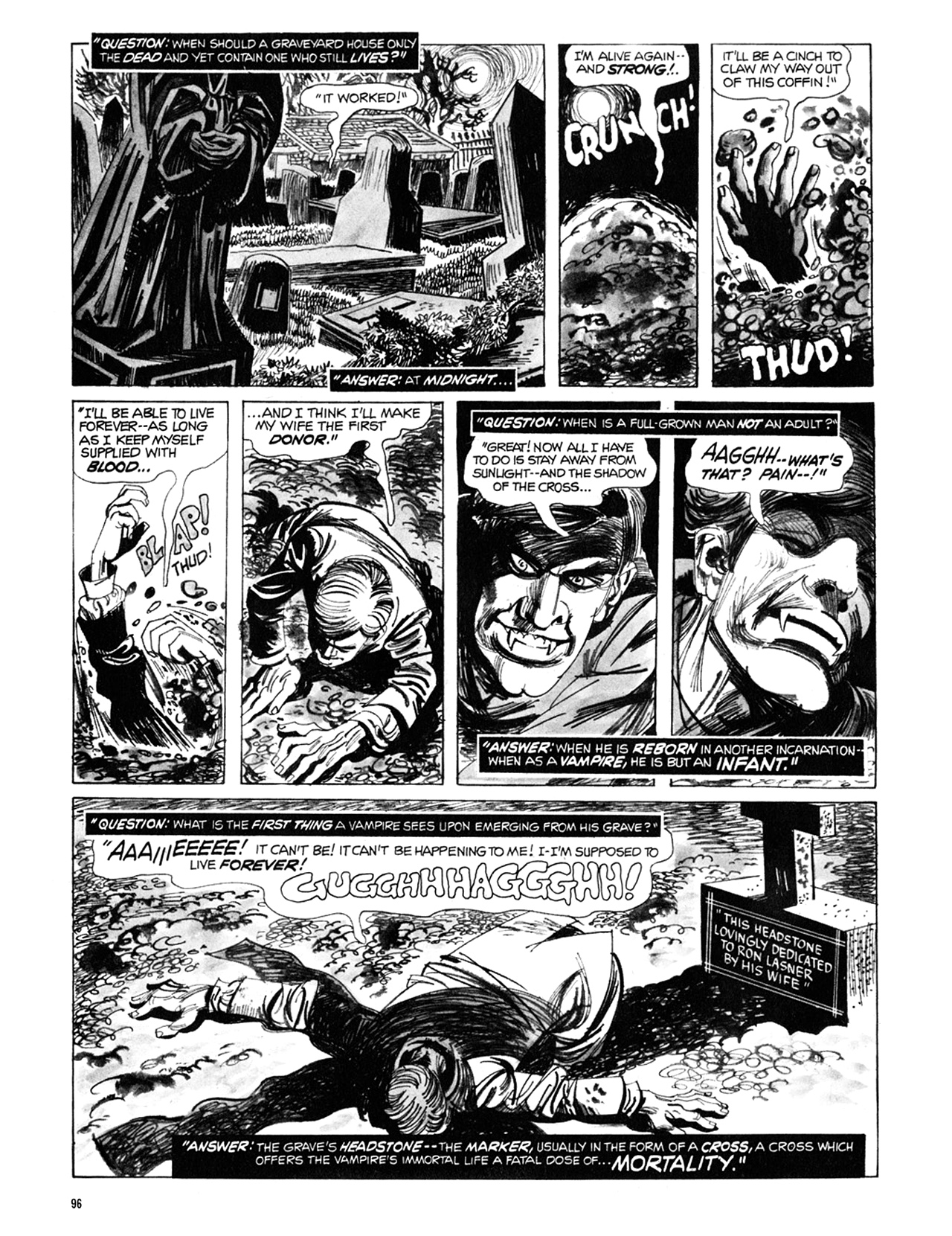 Read online Eerie Archives comic -  Issue # TPB 9 - 97