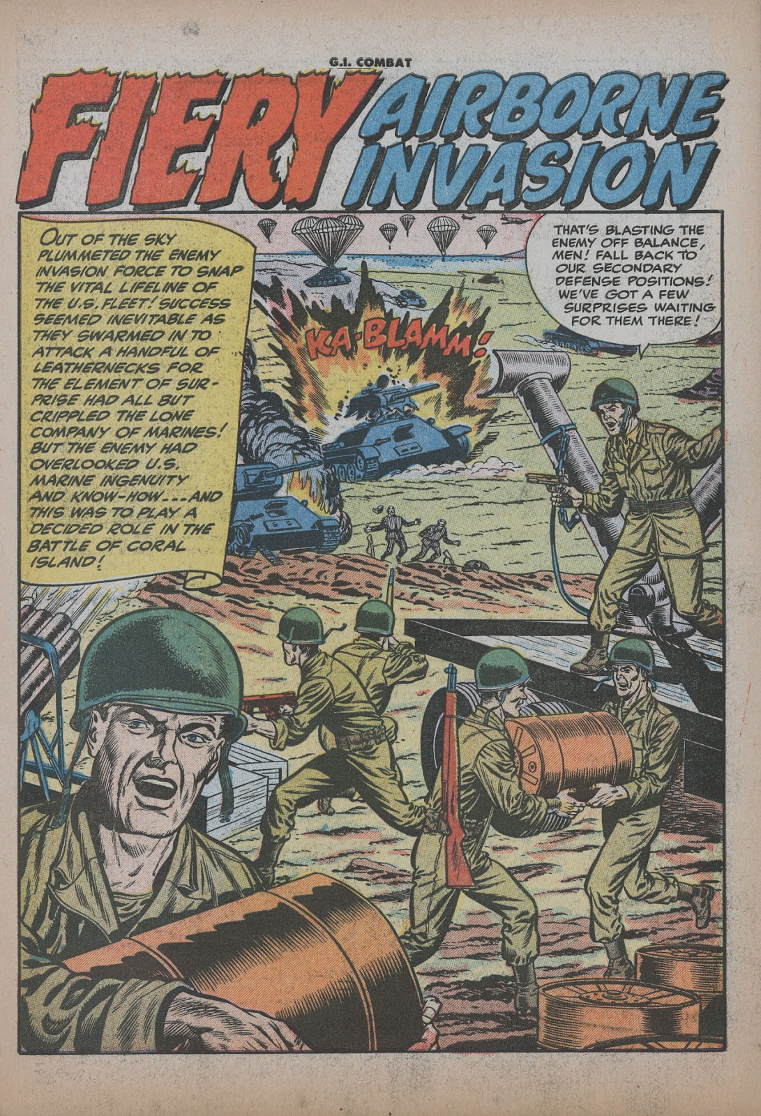 G.I. Combat (1952) issue 26 - Page 3