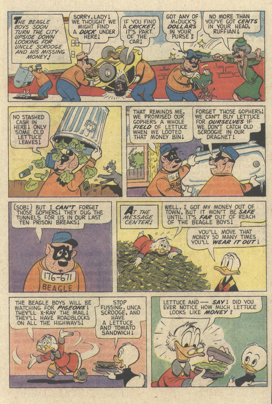 Read online Uncle Scrooge (1953) comic -  Issue #241 - 57