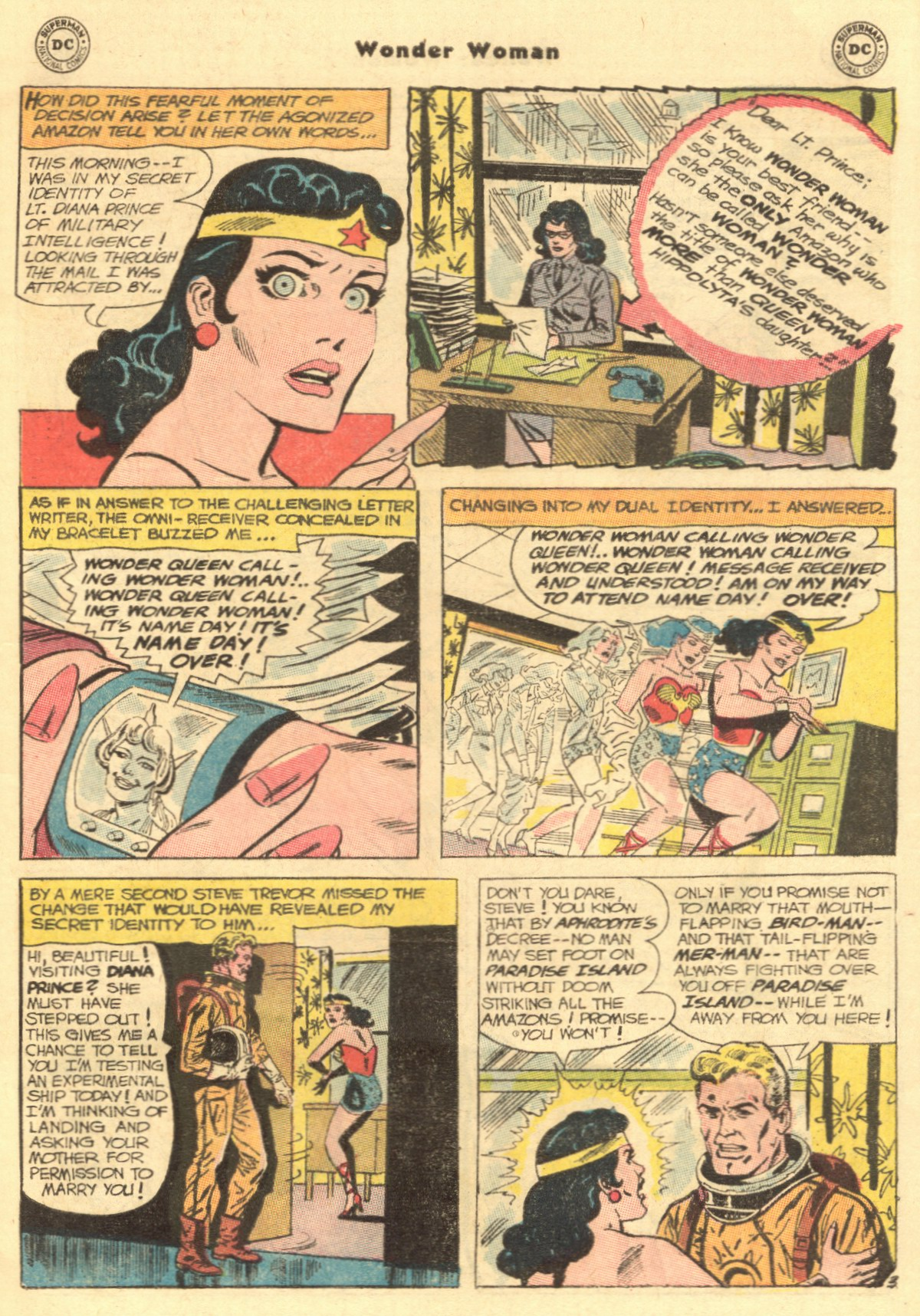 Read online Wonder Woman (1942) comic -  Issue #154 - 5