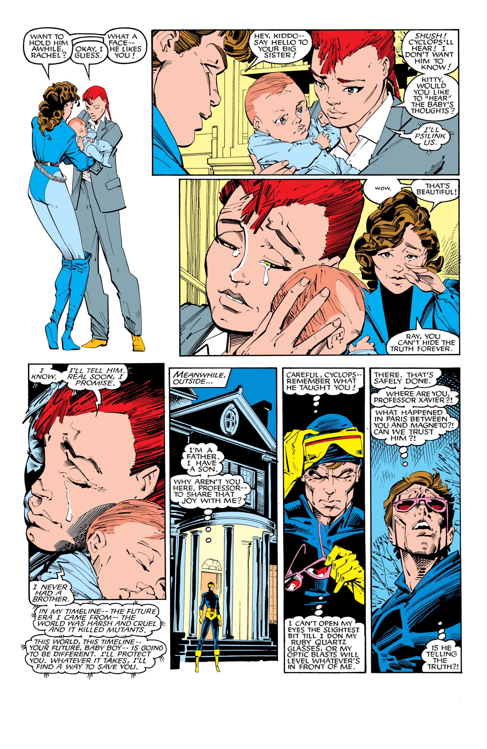 Read online Uncanny X-Men (1963) comic -  Issue #201 - 6