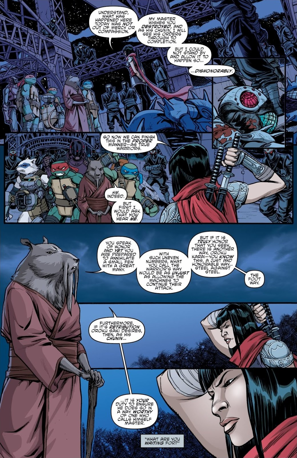 Read online Teenage Mutant Ninja Turtles: The IDW Collection comic -  Issue # TPB 6 (Part 3) - 20