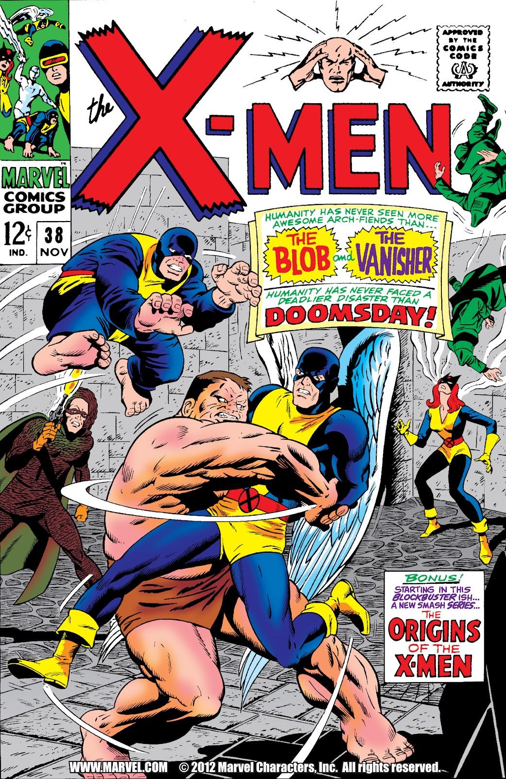 Uncanny X-Men (1963) 38 Page 1