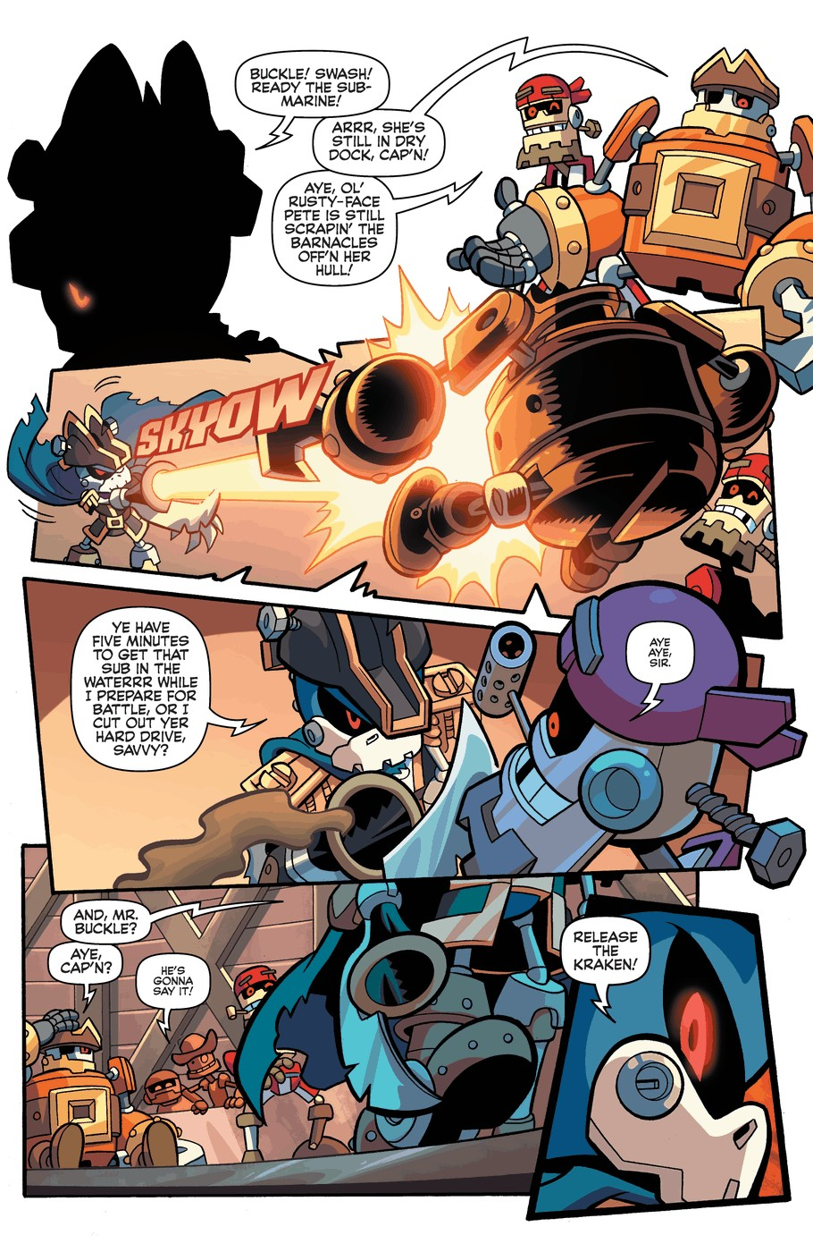 Read online Sonic Universe comic -  Issue #57 - 8