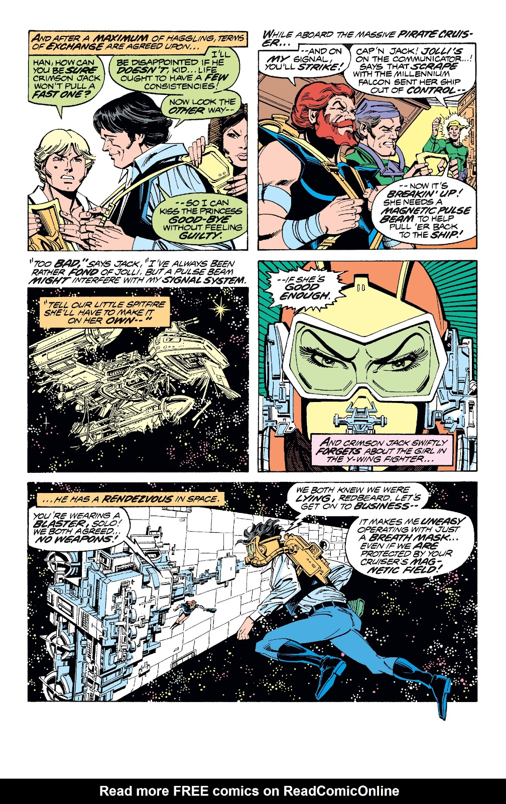 Read online Star Wars Legends: The Original Marvel Years - Epic Collection comic -  Issue # TPB 1 (Part 3) - 75