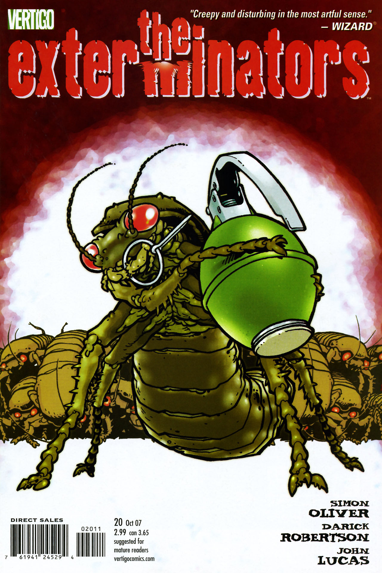 The Exterminators issue 20 - Page 1