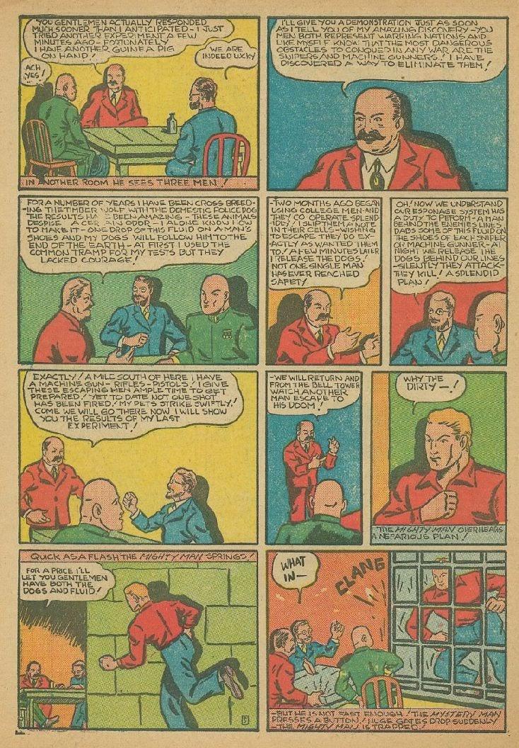 Read online Amazing Man Comics comic -  Issue #9 - 57