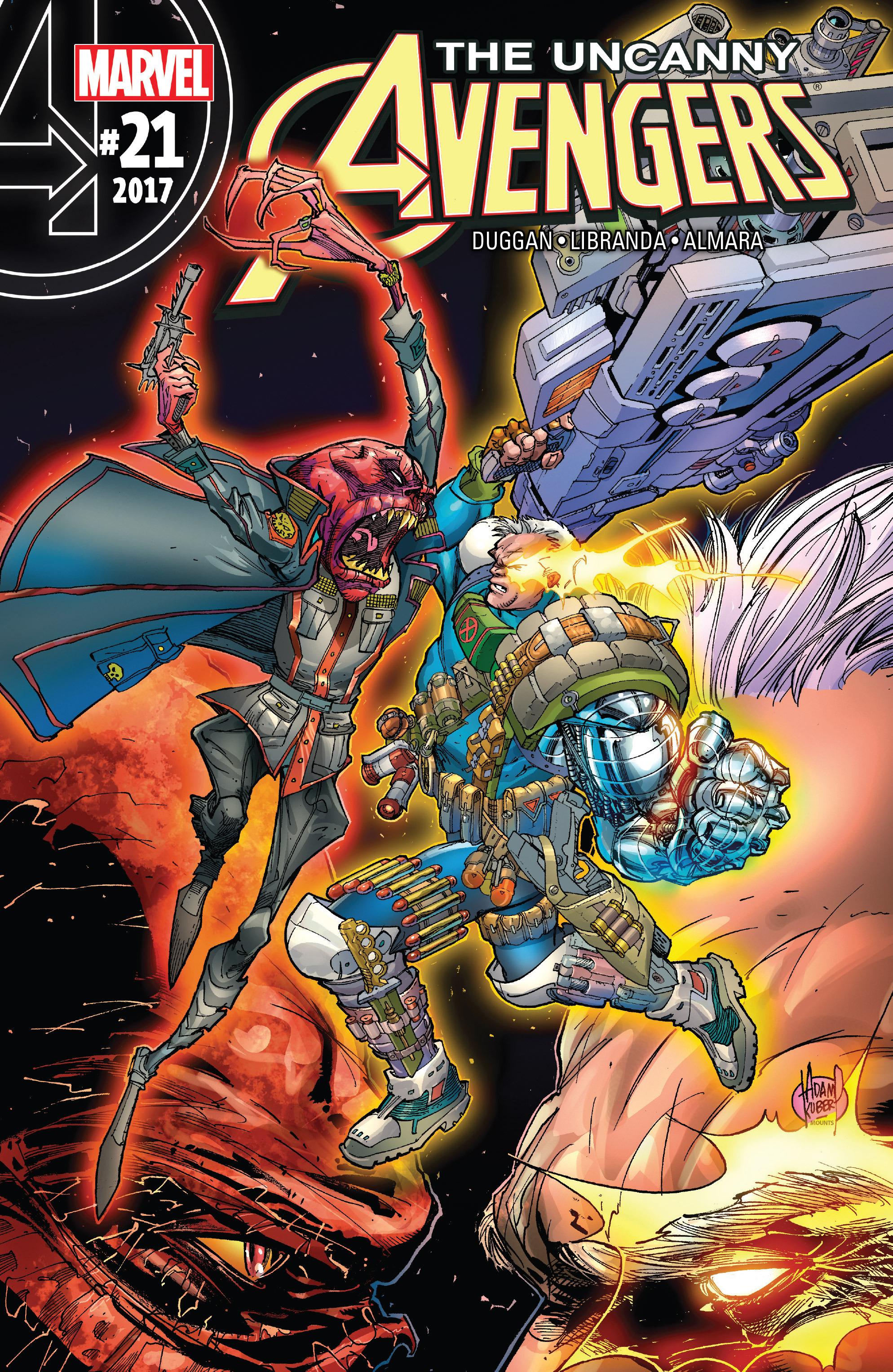 Read online Uncanny Avengers [II] comic -  Issue #21 - 1