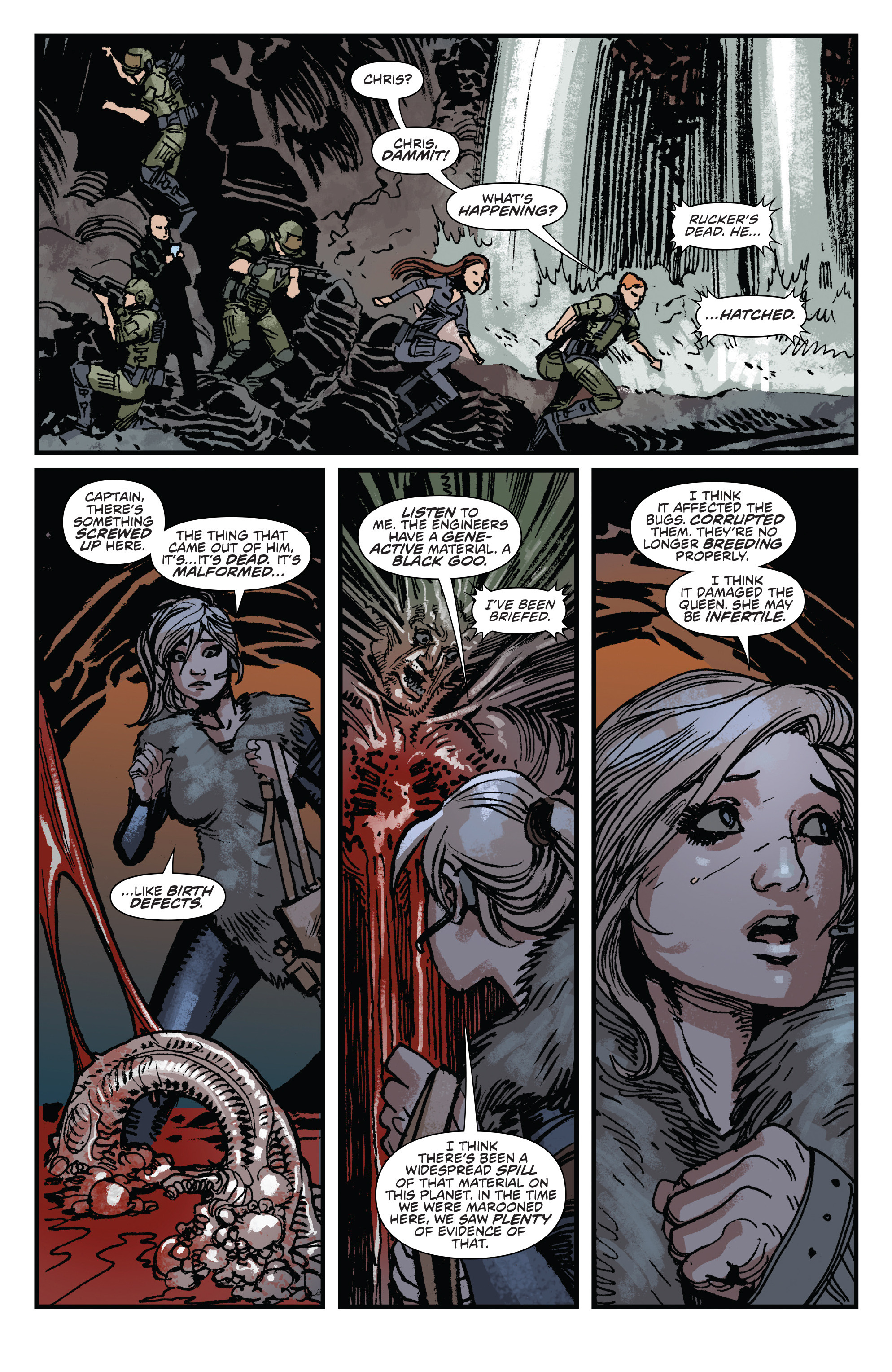 Read online Aliens: Life And Death comic -  Issue #3 - 15