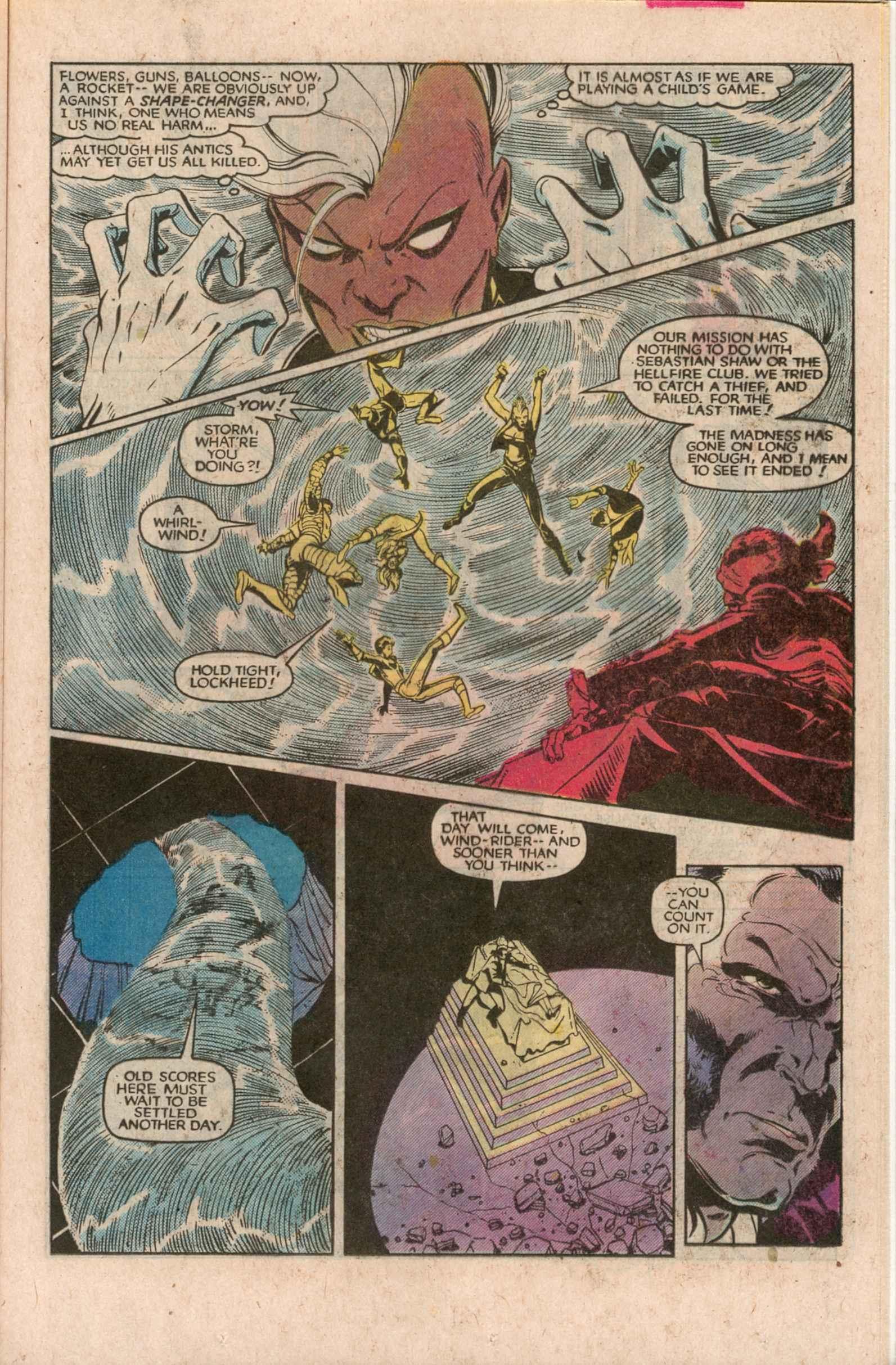 Read online Uncanny X-Men (1963) comic -  Issue # _Annual 7 - 24