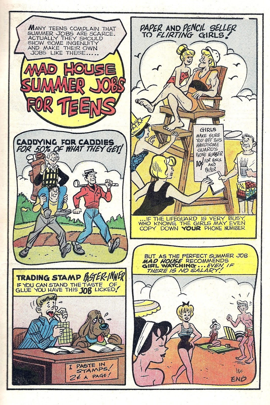 Archie's Madhouse issue Annual 6 - Page 21