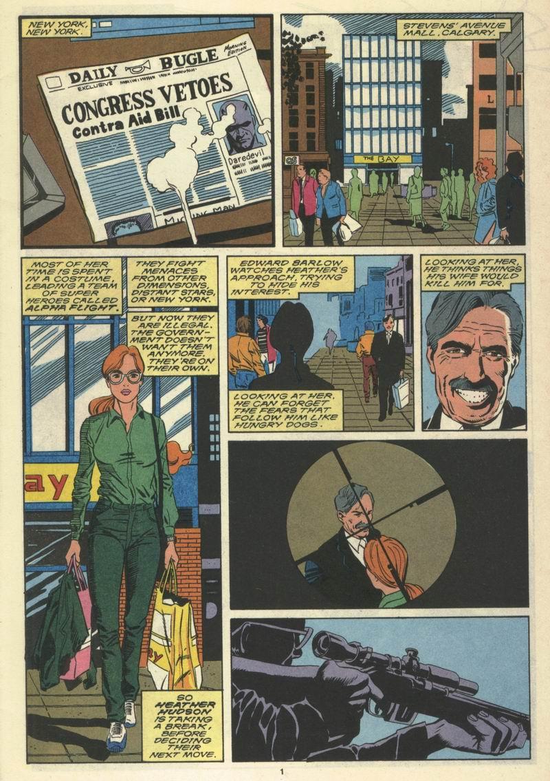 Read online Alpha Flight (1983) comic -  Issue #77 - 3