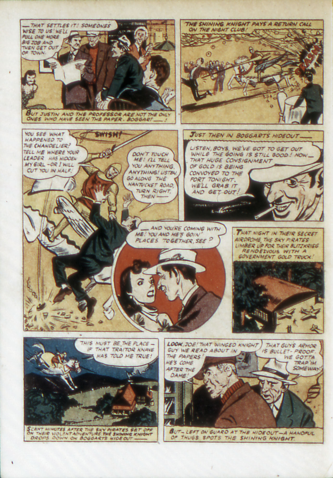 Read online Adventure Comics (1938) comic -  Issue #67 - 25