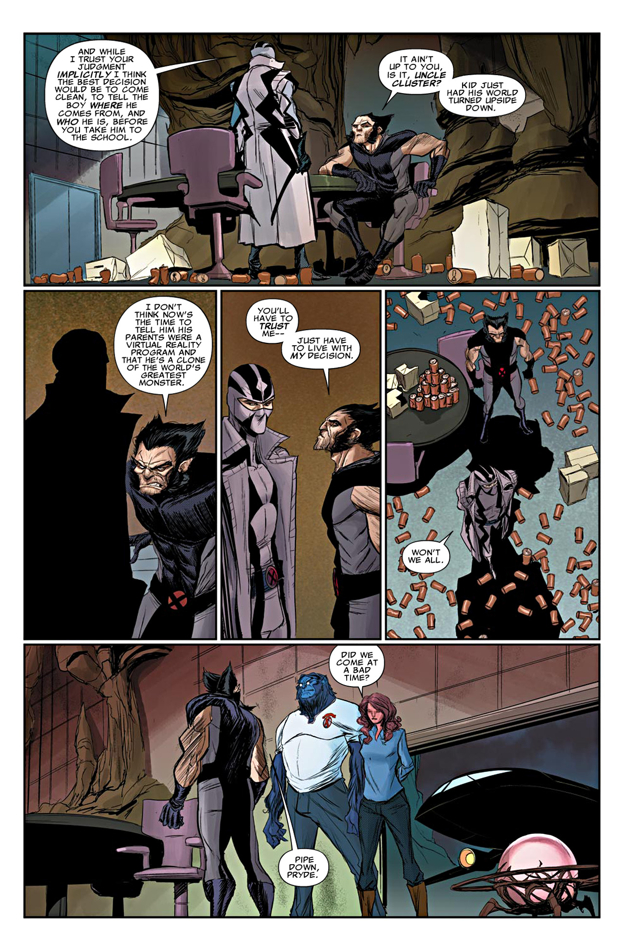 Read online Uncanny X-Force (2010) comic -  Issue #19 - 17