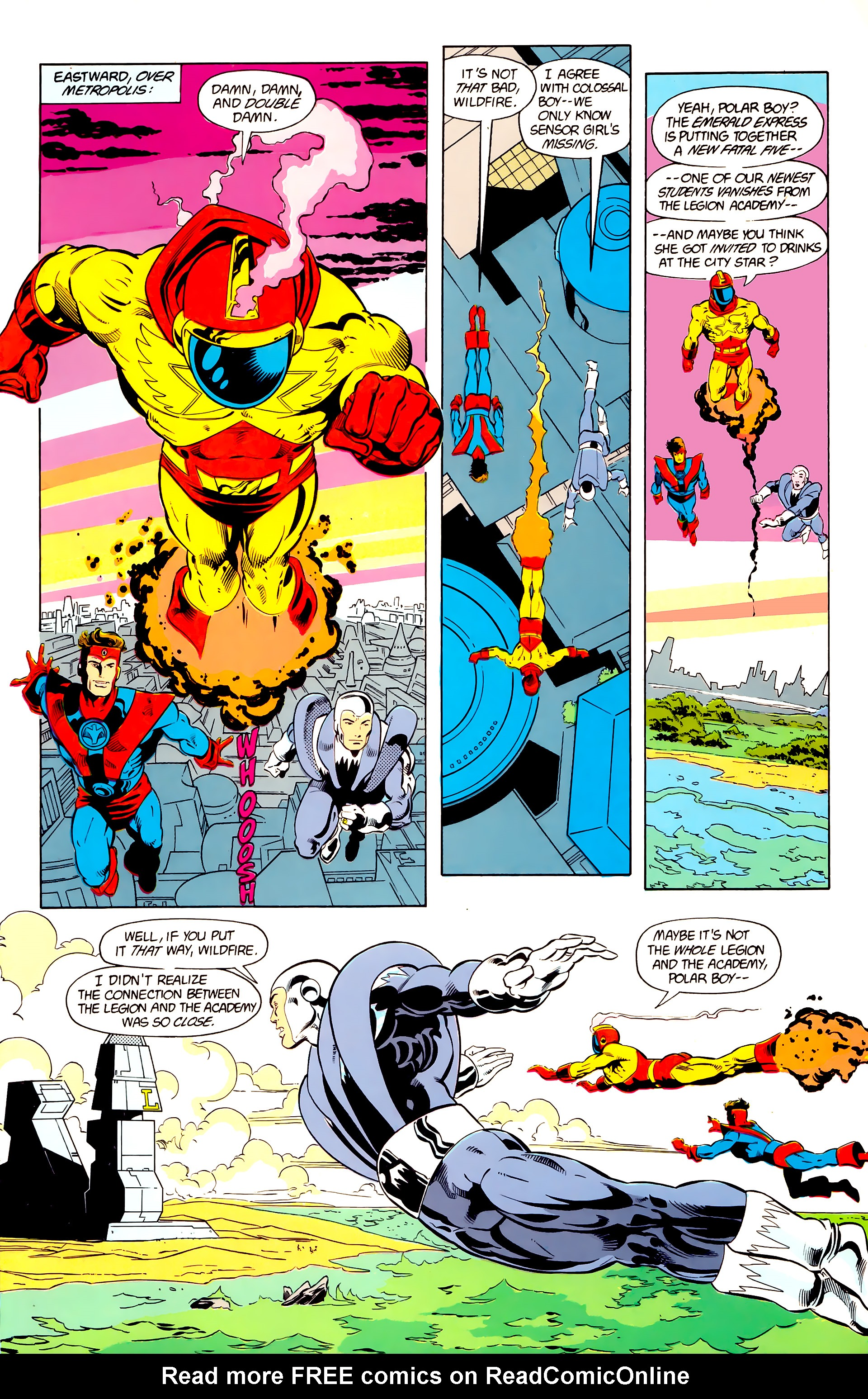 Legion of Super-Heroes (1984) 24 Page 4