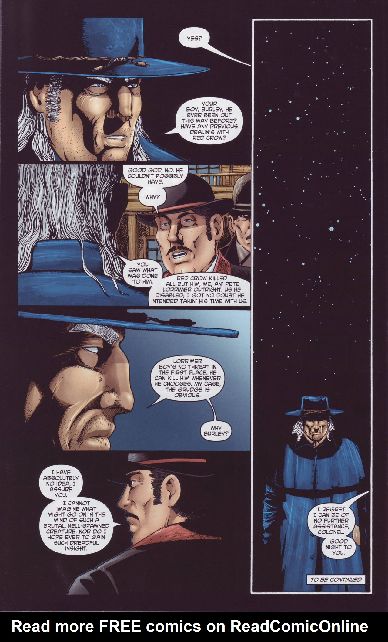 Read online Garth Ennis' Streets of Glory comic -  Issue #4 - 24