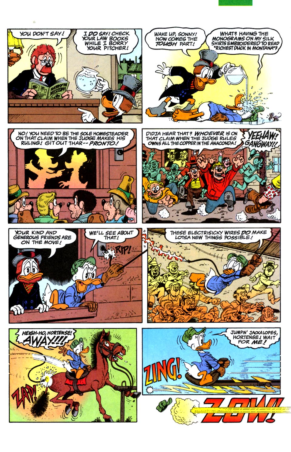 Read online Uncle Scrooge (1953) comic -  Issue #288 - 11
