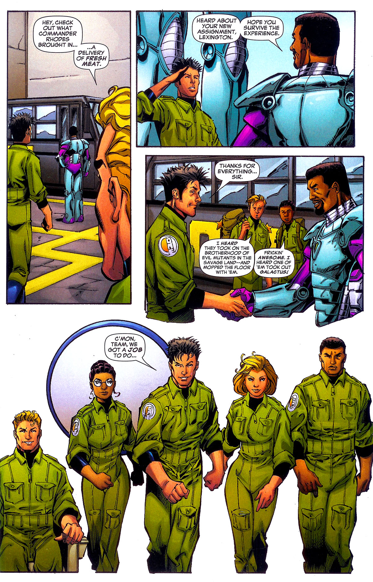 Read online Sentinel Squad O*N*E comic -  Issue #5 - 22