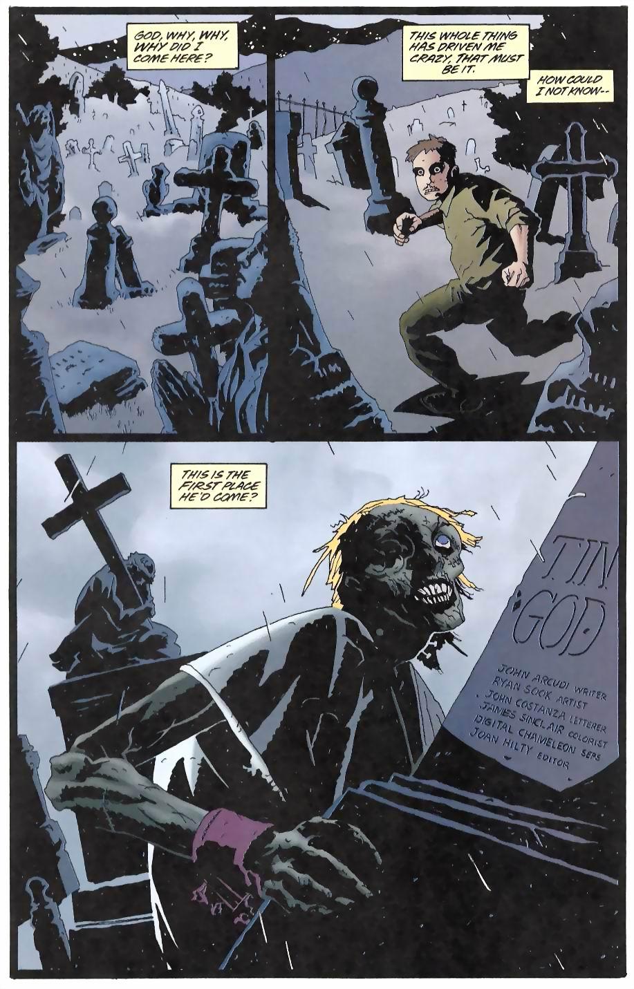Read online Flinch comic -  Issue #12 - 13