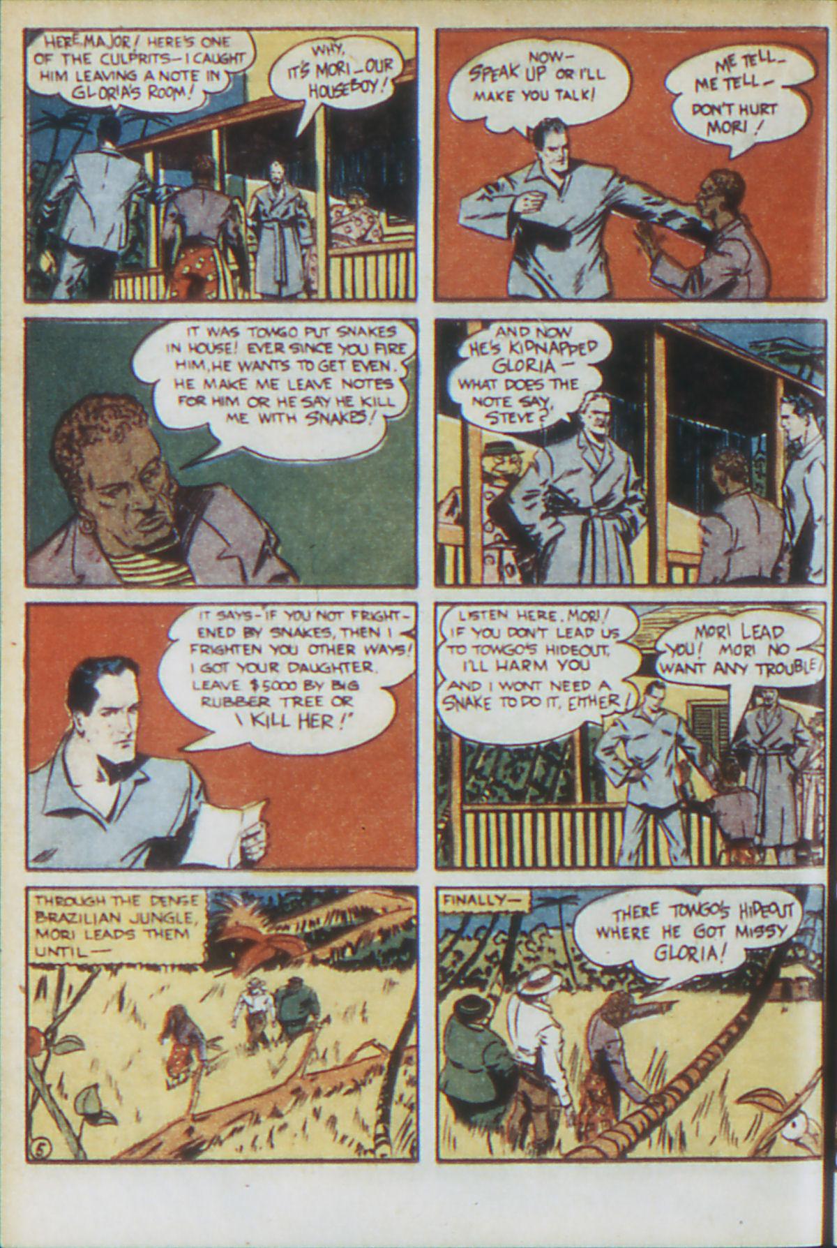 Read online Adventure Comics (1938) comic -  Issue #64 - 29