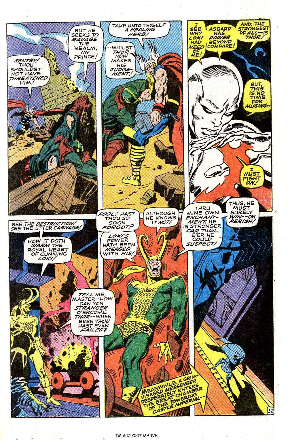 Read online Silver Surfer (1968) comic -  Issue #4 - 39