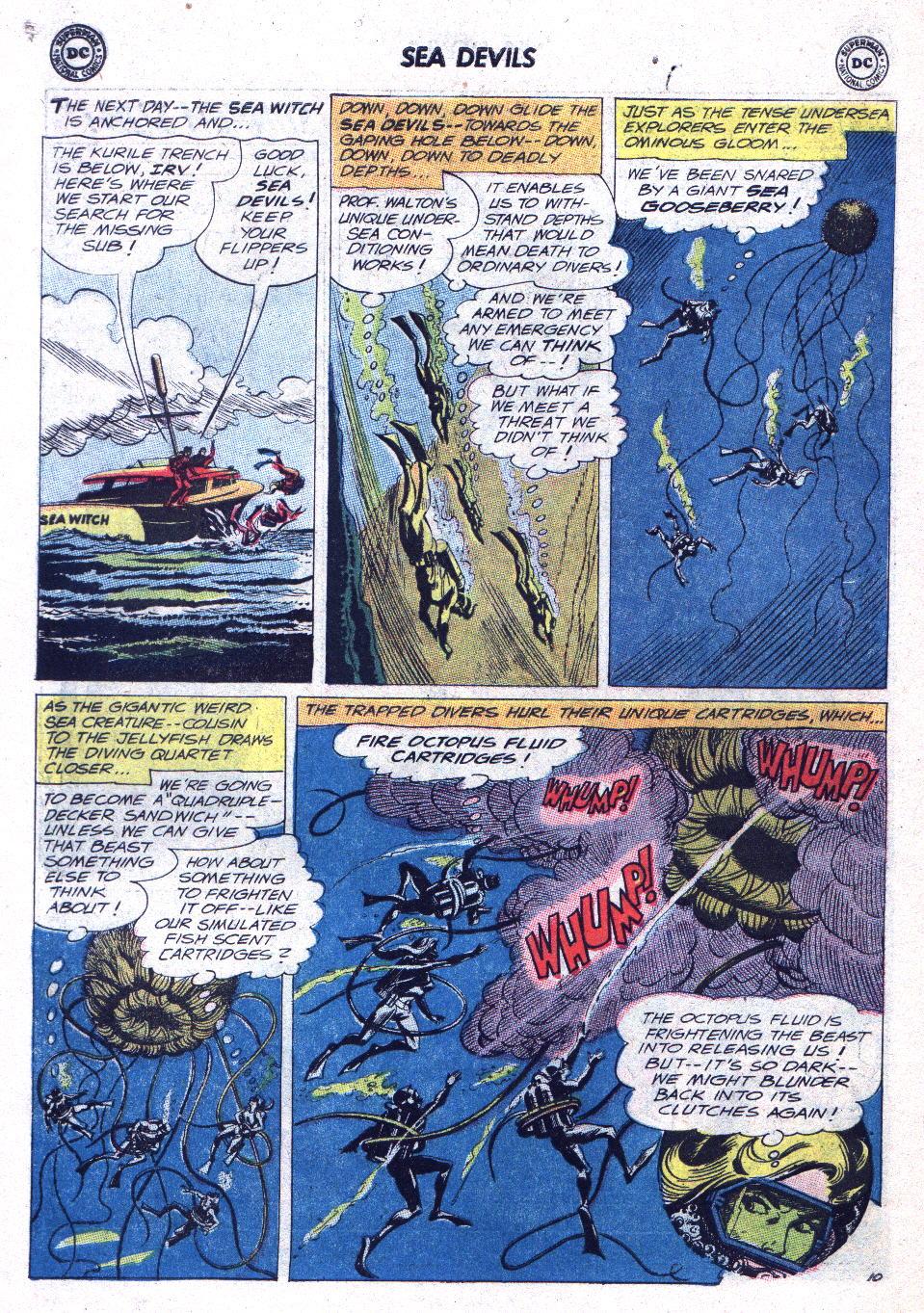 Read online Sea Devils comic -  Issue #15 - 14