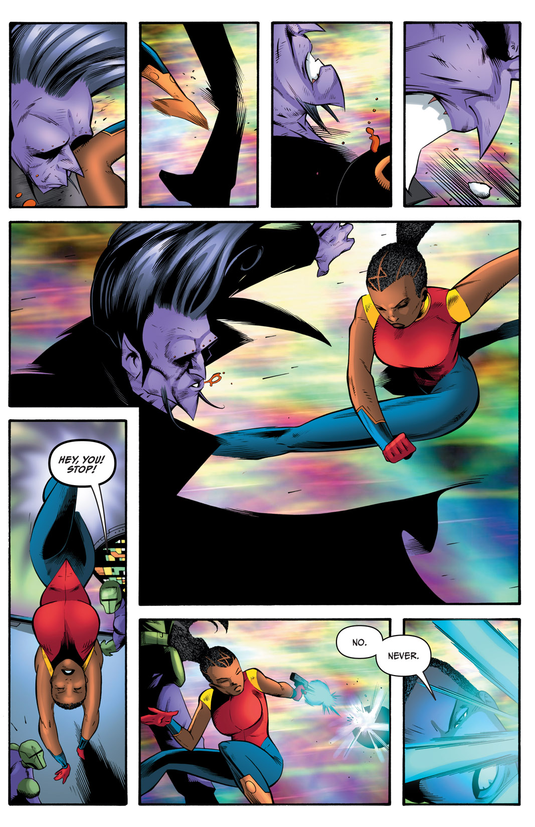 Read online The Many Adventures of Miranda Mercury: Time Runs Out comic -  Issue # TPB - 166