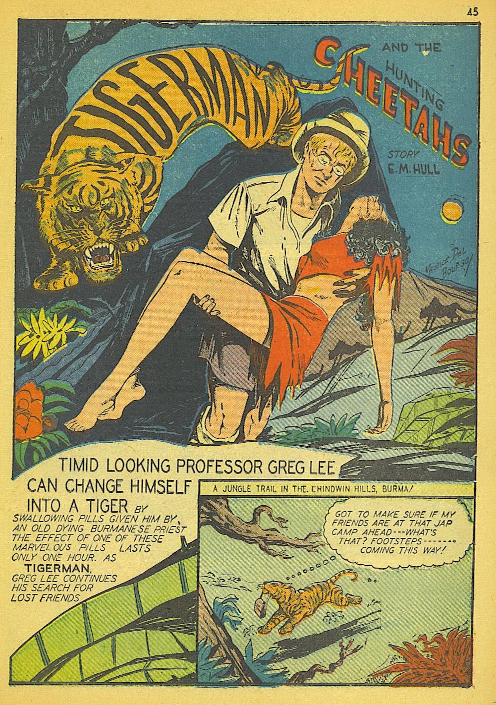 Read online Super-Magician Comics comic -  Issue #19 - 37