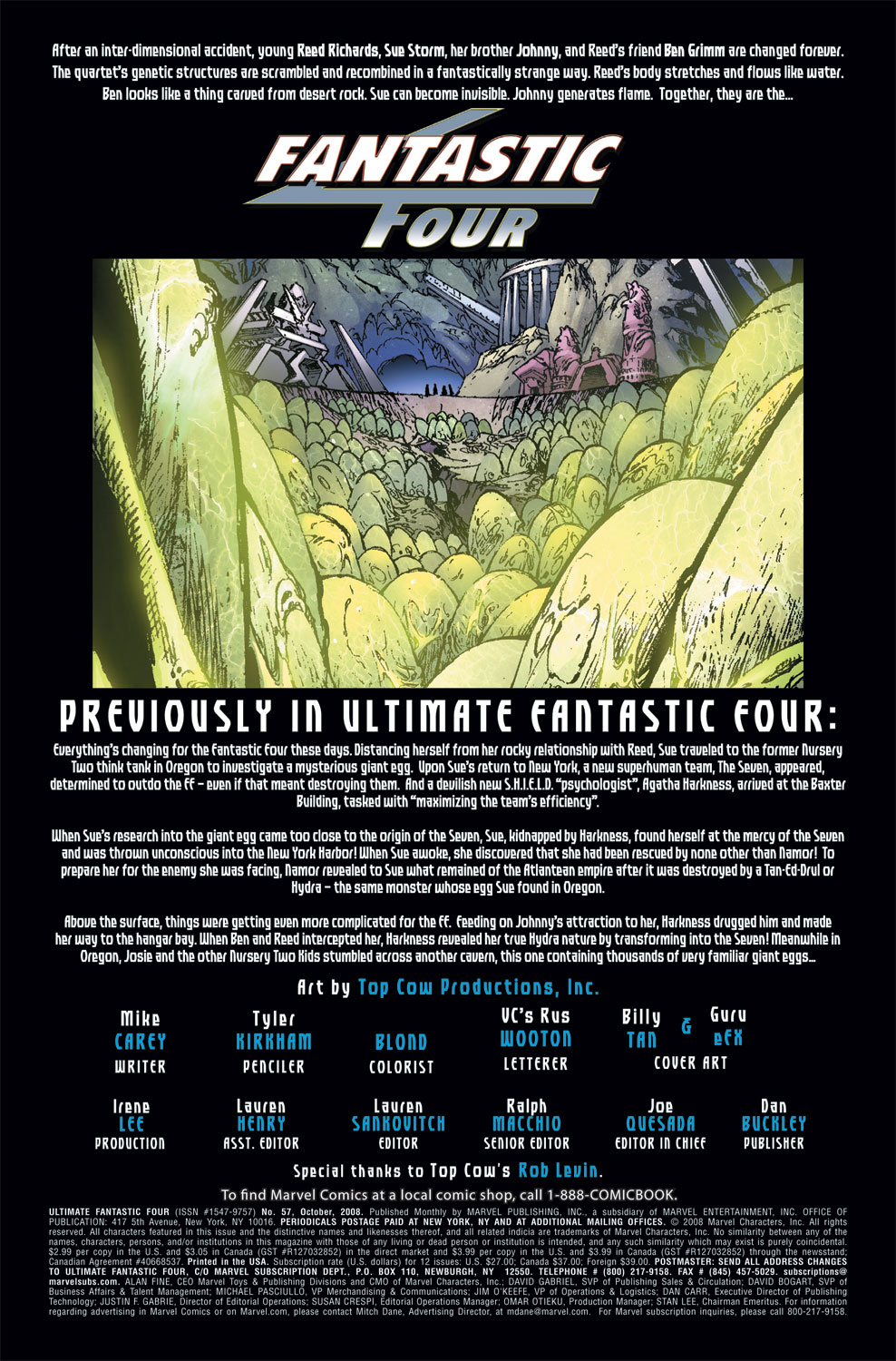 Read online Ultimate Fantastic Four (2004) comic -  Issue #57 - 2